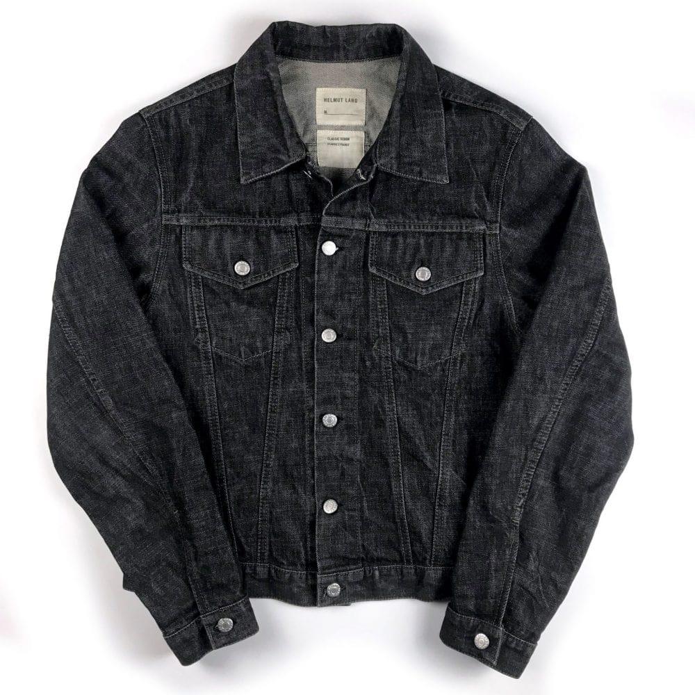gebraucht kaufen Helmut Lang Vintage 1990's Archive Classic Denim 2 Pocket Jacke