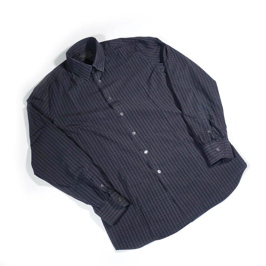 gebraucht kaufen Prada Vintage Kariertes Hemd