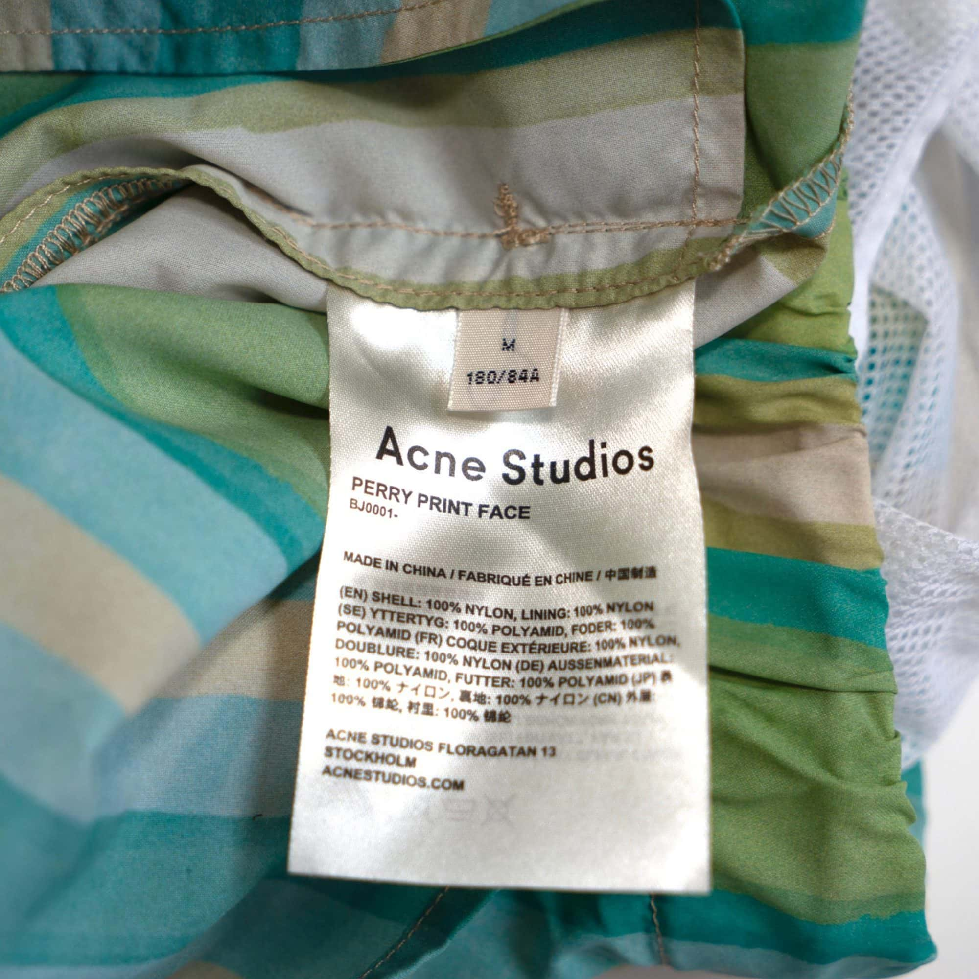 gebraucht kaufen Acne Studios Perry Face Badehose