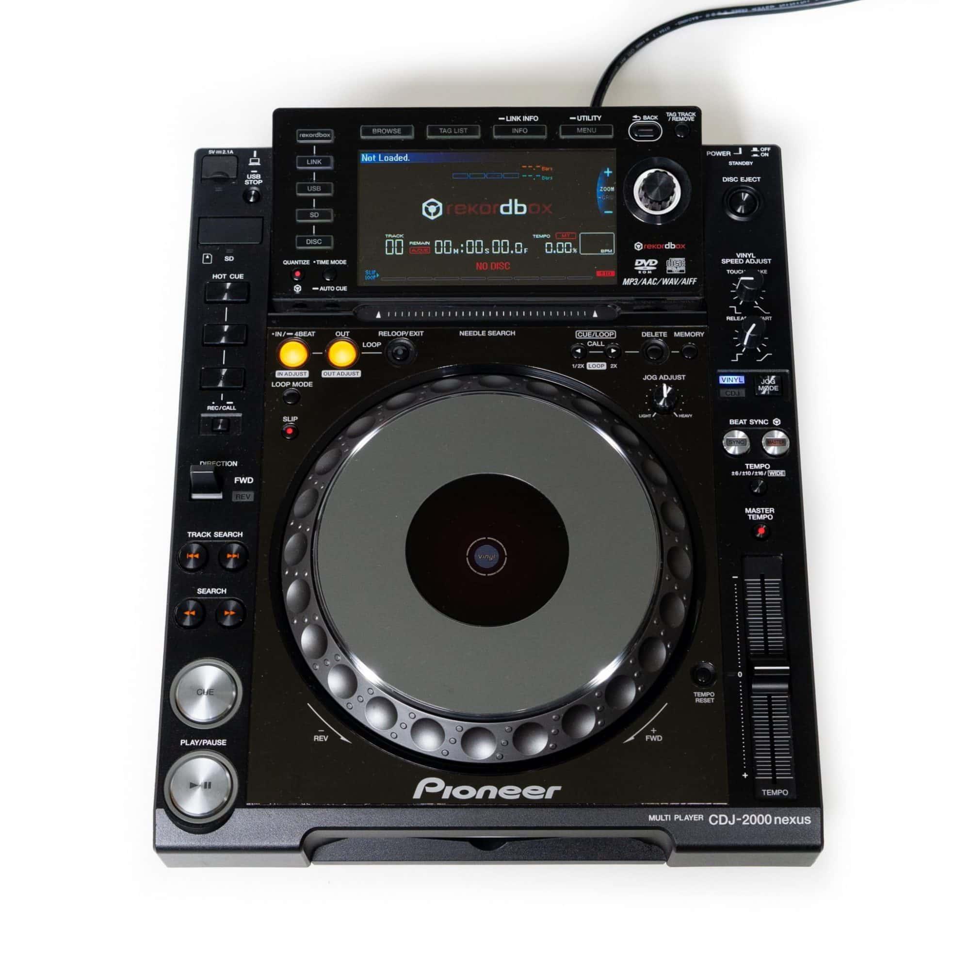 Pioneer DJ CDJ 2000NXS