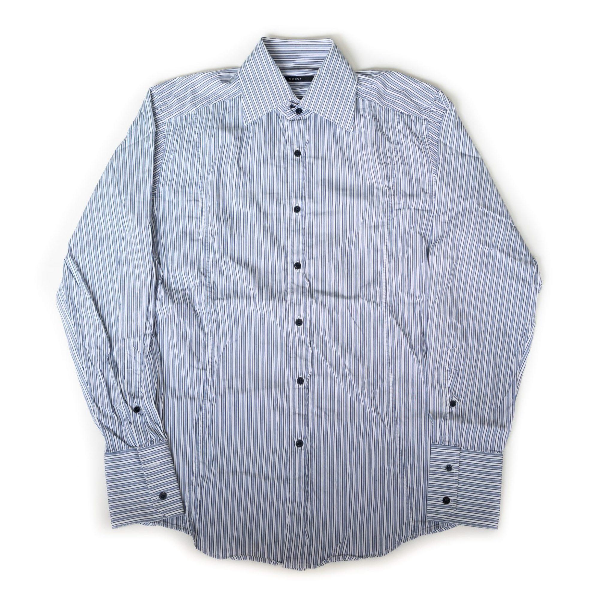 gebraucht kaufen Gucci Striped Hemd