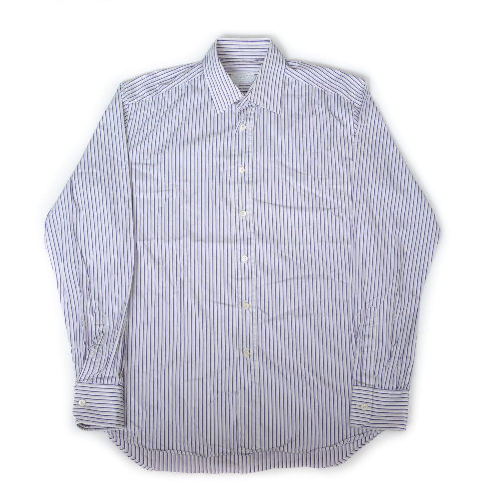 gebraucht kaufen Prada Vintage gestreiftes Hemd