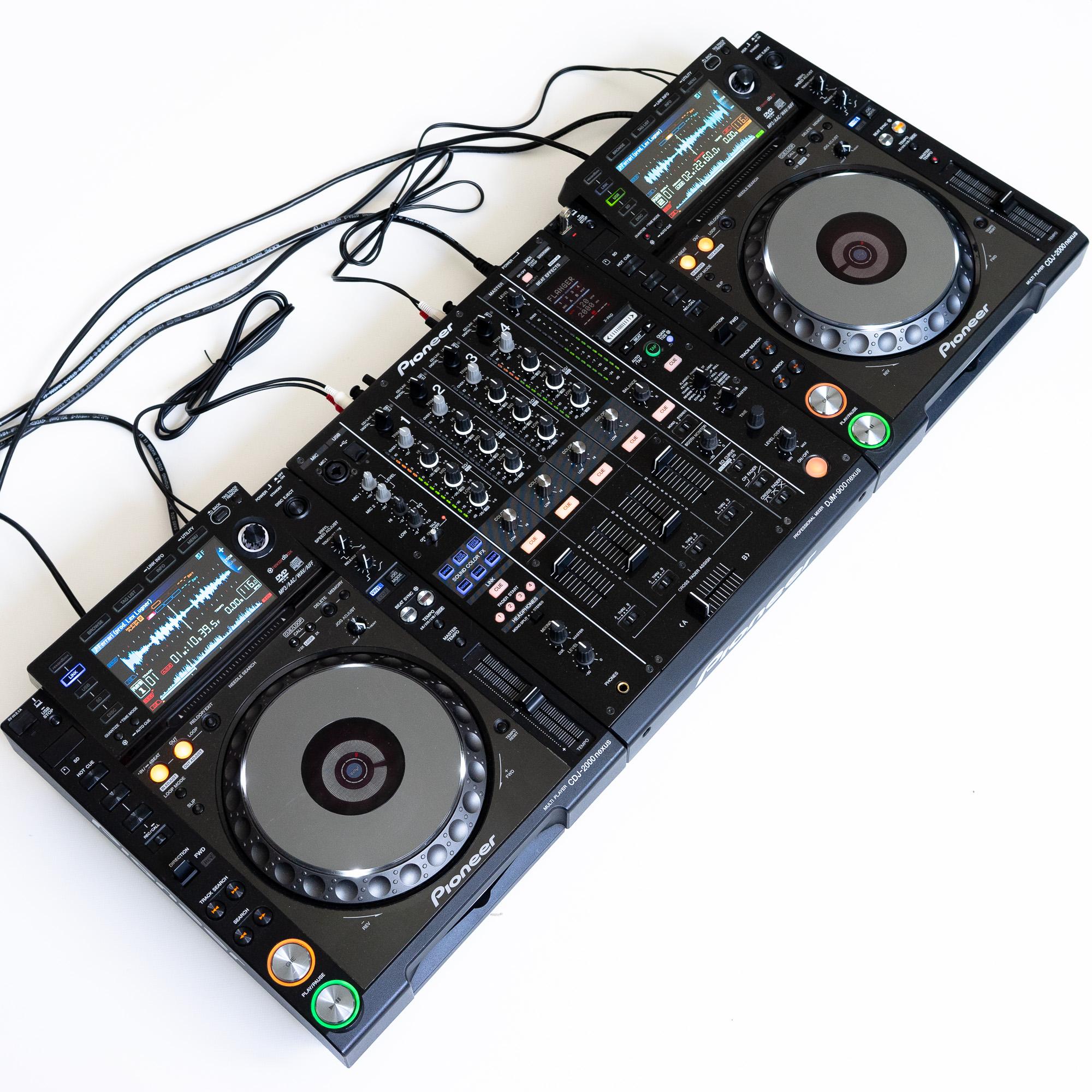 gebraucht kaufen DJ-Set: 2x Pioneer CDJ 2000 NXS Nexus + 1x Pioneer DJM 900 Nexus