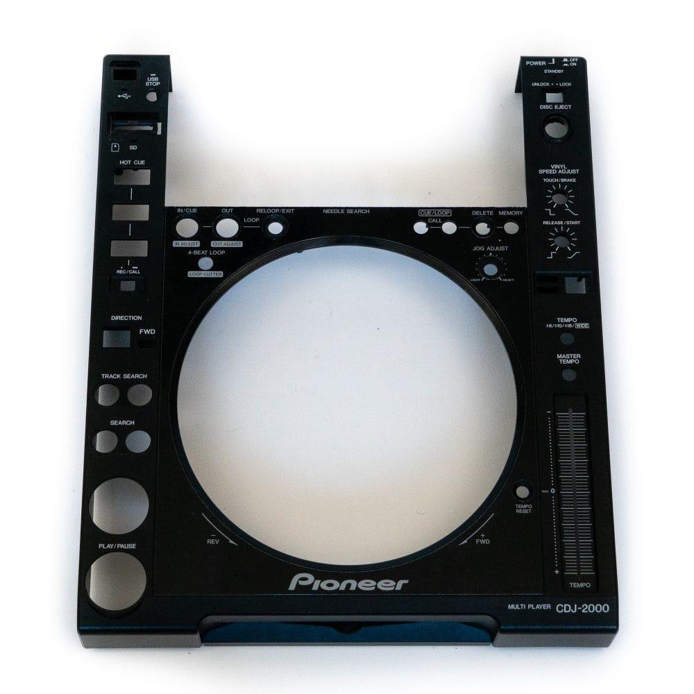 gebraucht kaufen Pioneer DJ CDJ 2000 Gehäuse DNK5305 + DAH2703 + DNK3958 + DAH2404
