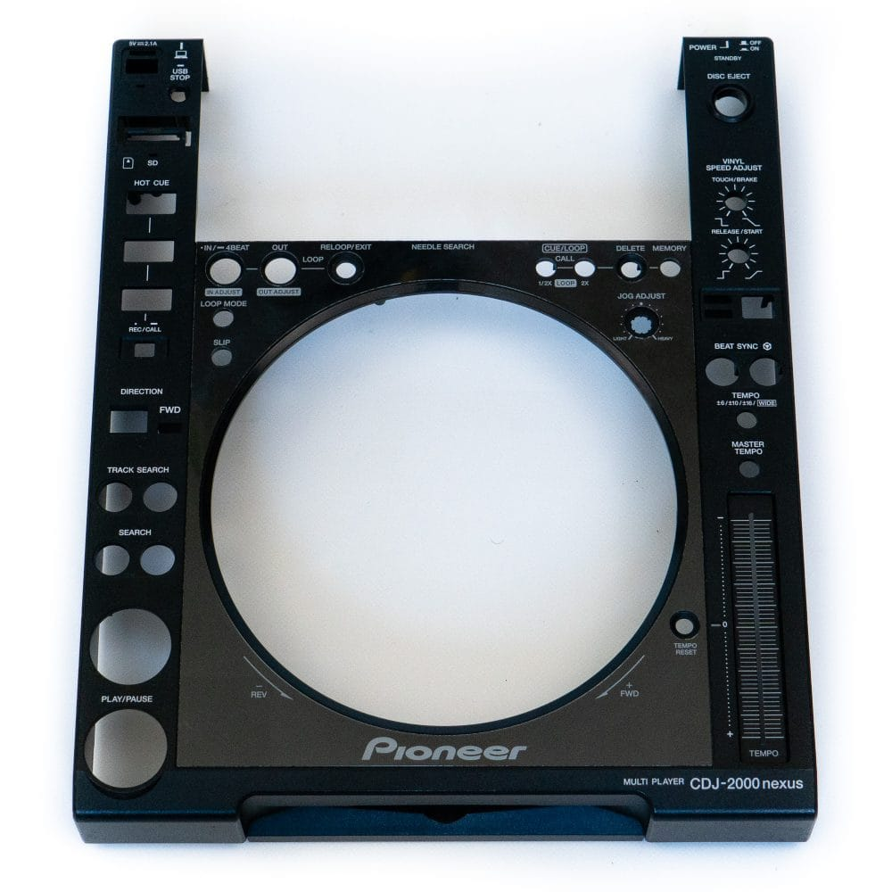 gebraucht kaufen Pioneer DJ CDJ 2000 NXS Gehäuse DNK6030 + DAH2871 + DNK3958 + DAH2404