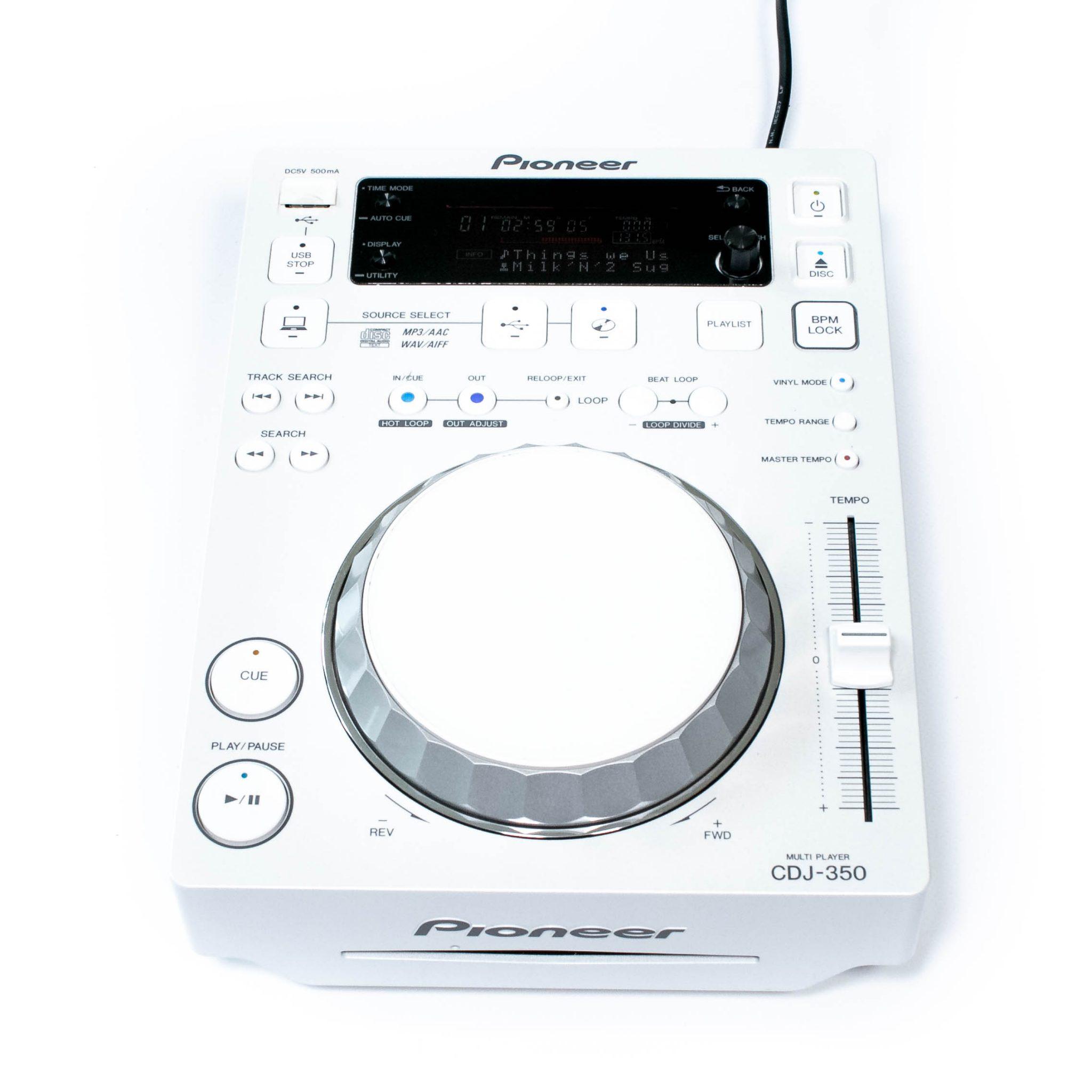 gebraucht kaufen Pioneer CDJ 350 LTD White
