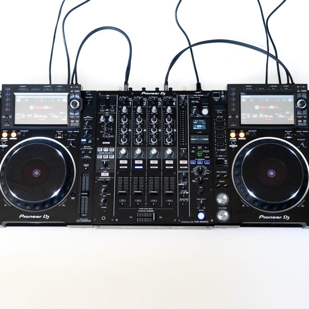 gebraucht kaufen DJ-Set: 2x Pioneer CDJ 2000 NXS2 + 1x DJM 900 NXS2