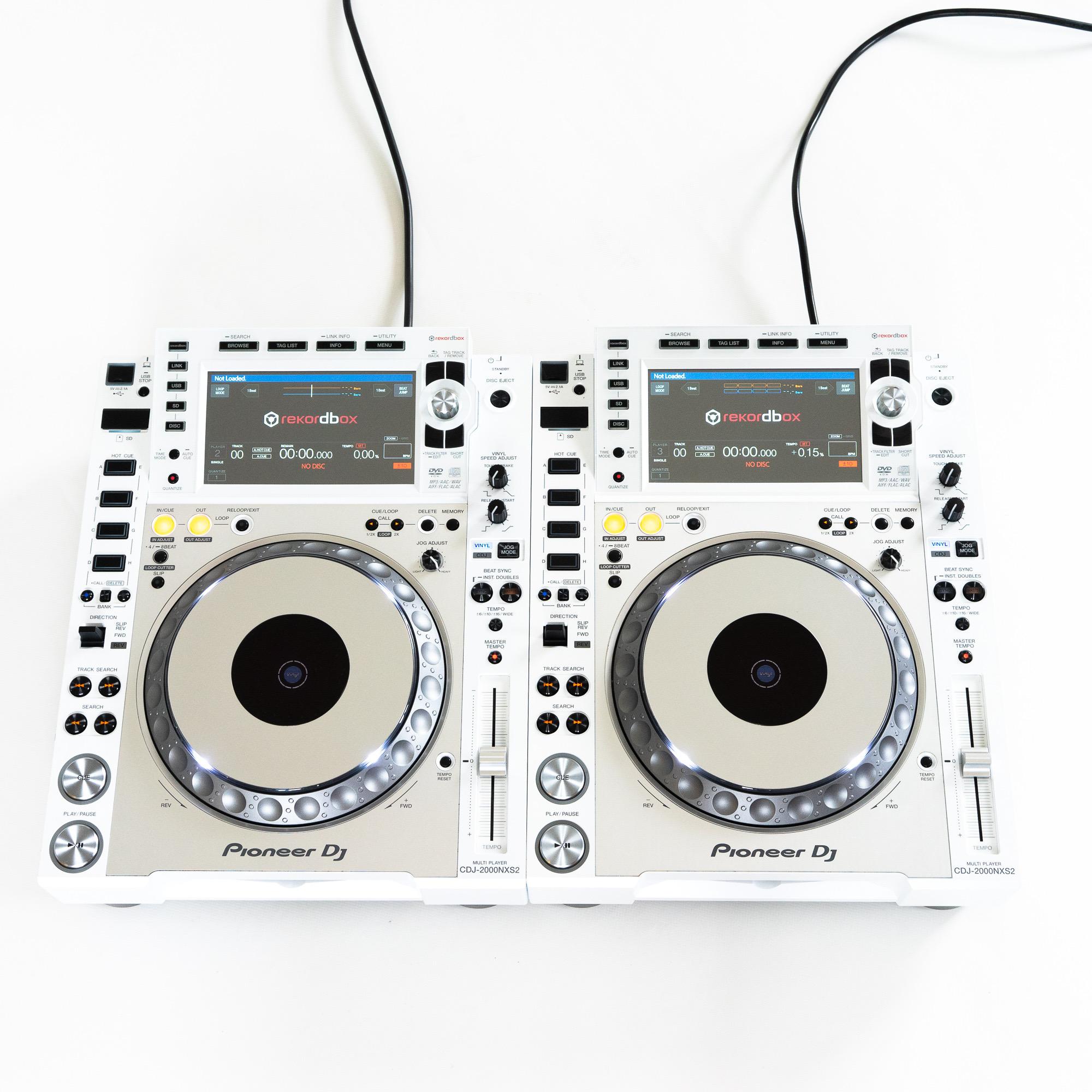 gebraucht kaufen 2er Paket: Pioneer CDJ 2000 NXS2 Limited White