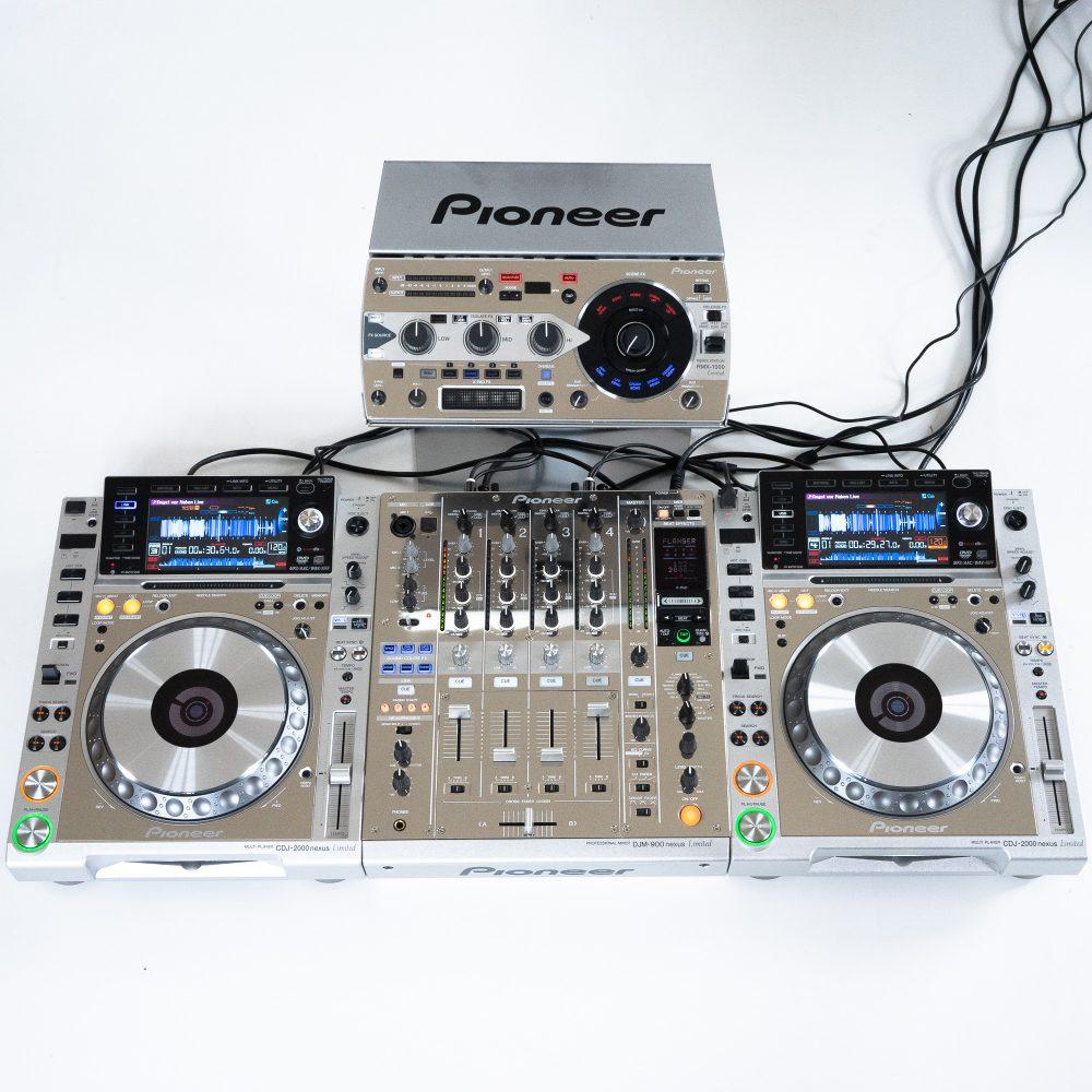 gebraucht kaufenDJ-Set: Pioneer DJ Nexus Limited Platinum 2x CDJ 2000 NXS + DJM 900 NXS + RMX 1000
