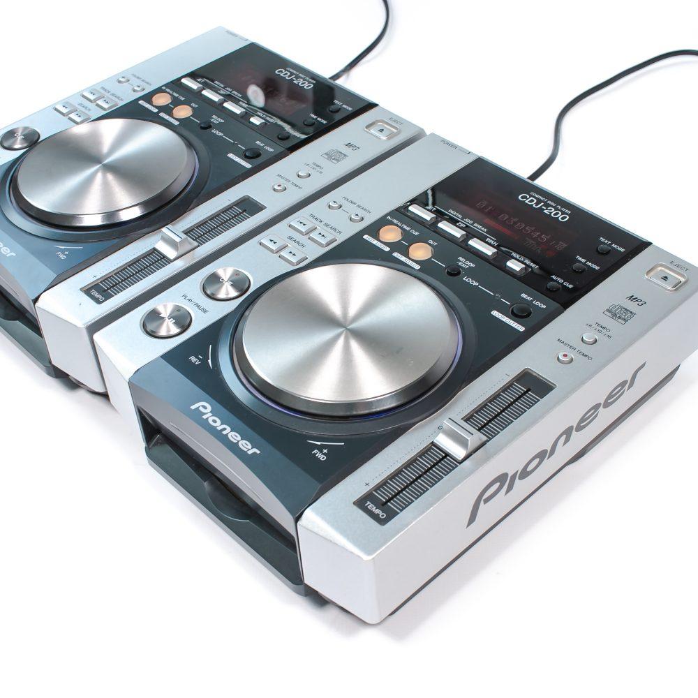 gebraucht kaufen 2er Paket: Pioneer CDJ 200