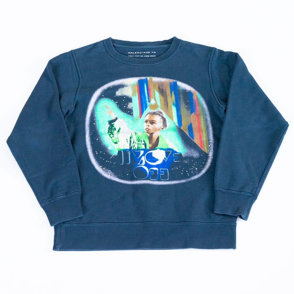 gebraucht kaufen Balenciaga Crewneck Sweatshirt