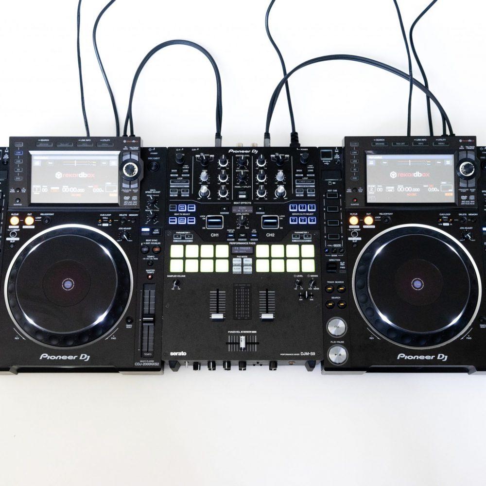 gebraucht kaufen DJ-Set: 2x Pioneer CDJ 2000 NXS2 + 1x DJM S9