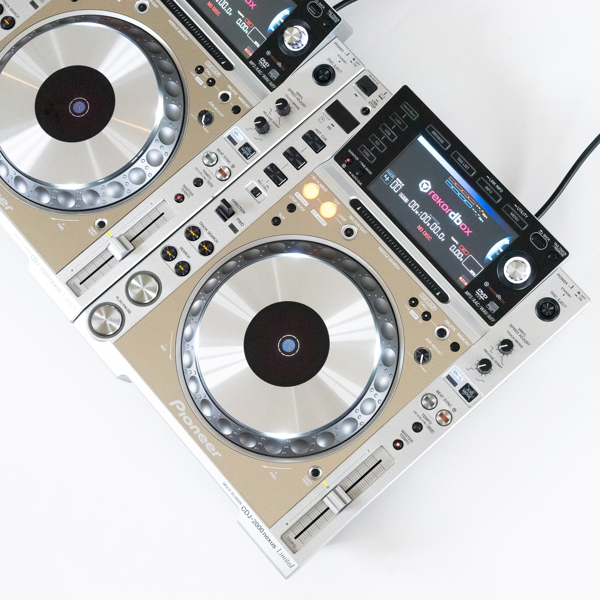 gebraucht kaufen 2er Paket: Pioneer CDJ 2000 NXS Limited Platinum