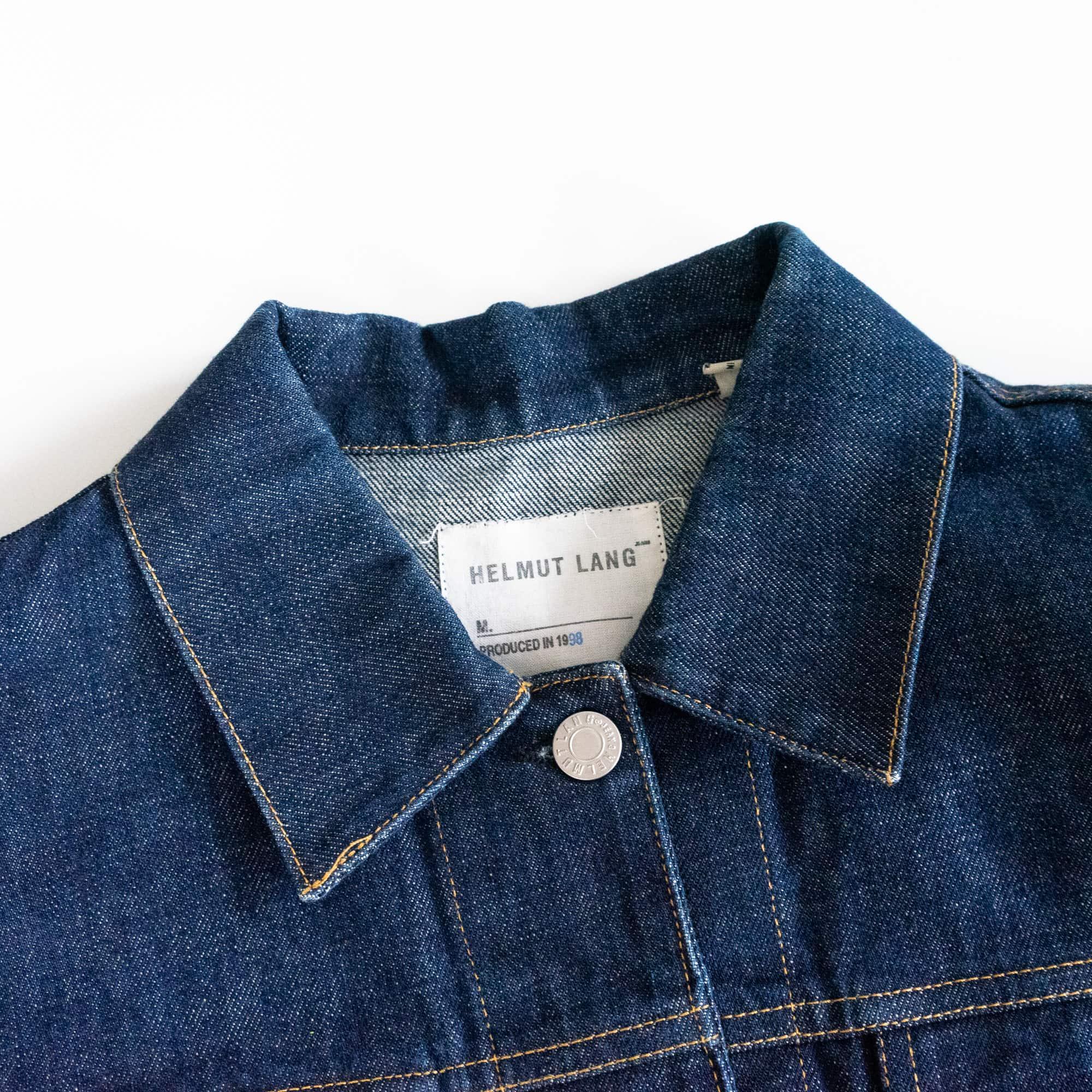 gebraucht kaufen Helmut Lang Vintage 1998 Archive Denim Jacke