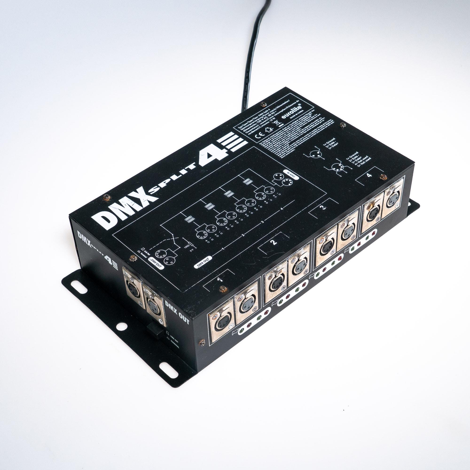 gebraucht kaufen Eurolite DMX Split 4