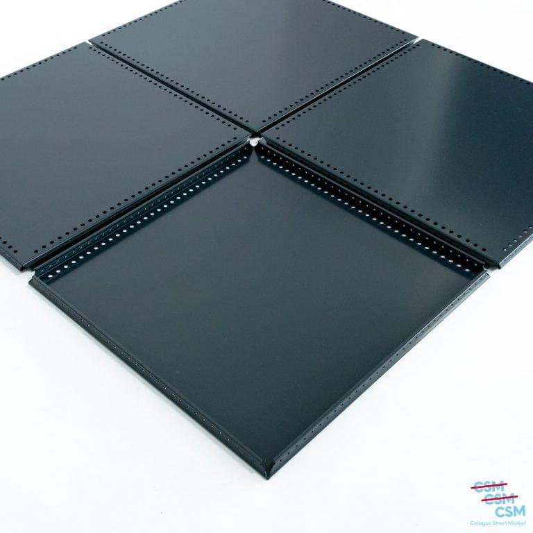4er-Paket-USM-Haller-Lochtablar-35×35-Anthrazit-RAL-7016-gebraucht-kaufen