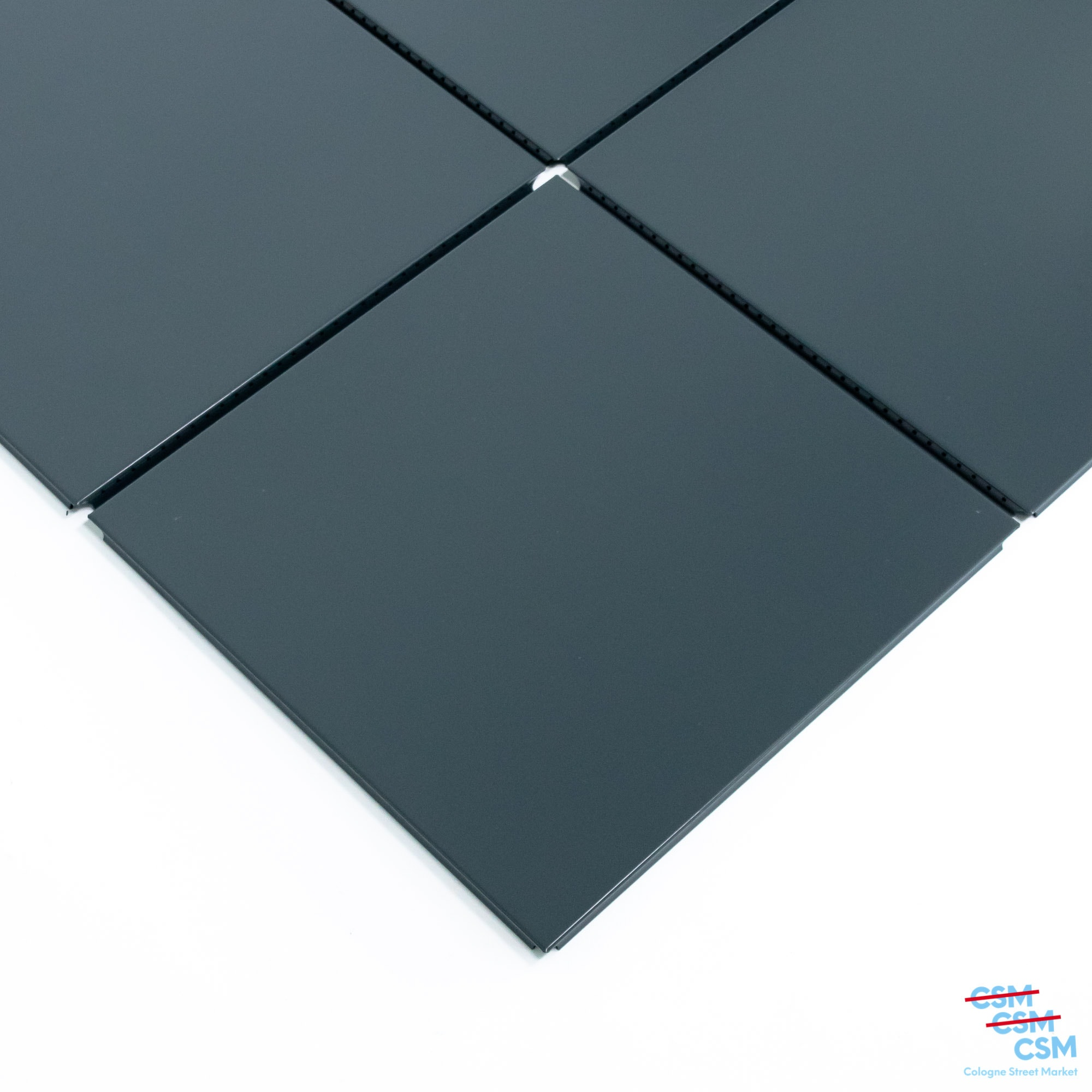 4er-Paket-USM-Haller-Tablar-35×35-Anthrazit-RAL-7016-gebraucht-kaufen