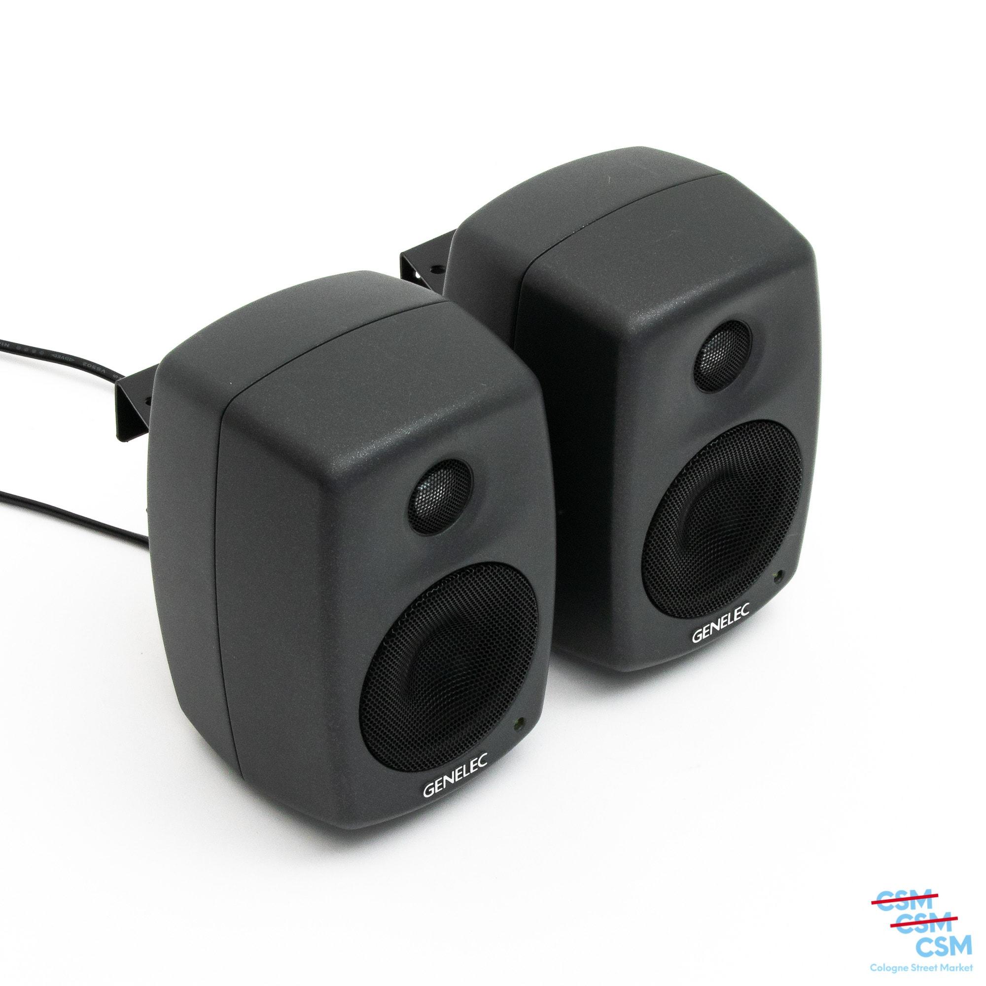 2er-Paket-Genelec-6010A-Grau-ohne-Füße-gebraucht-kaufen