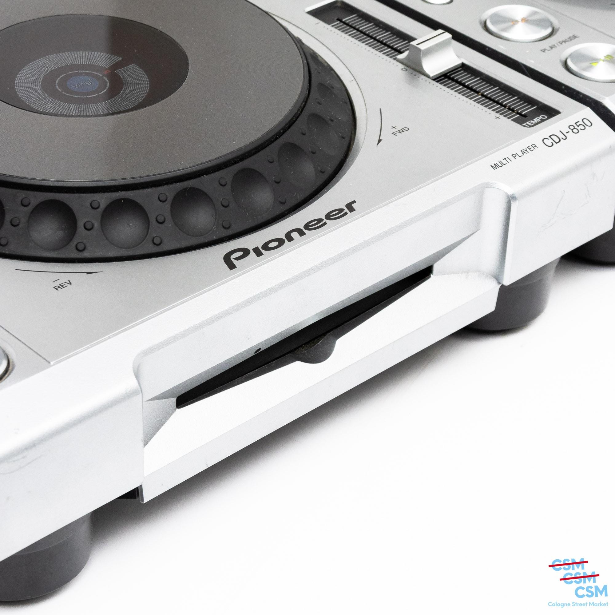 2er Paket Pioneer DJ CDJ 850 Silber gebraucht 10