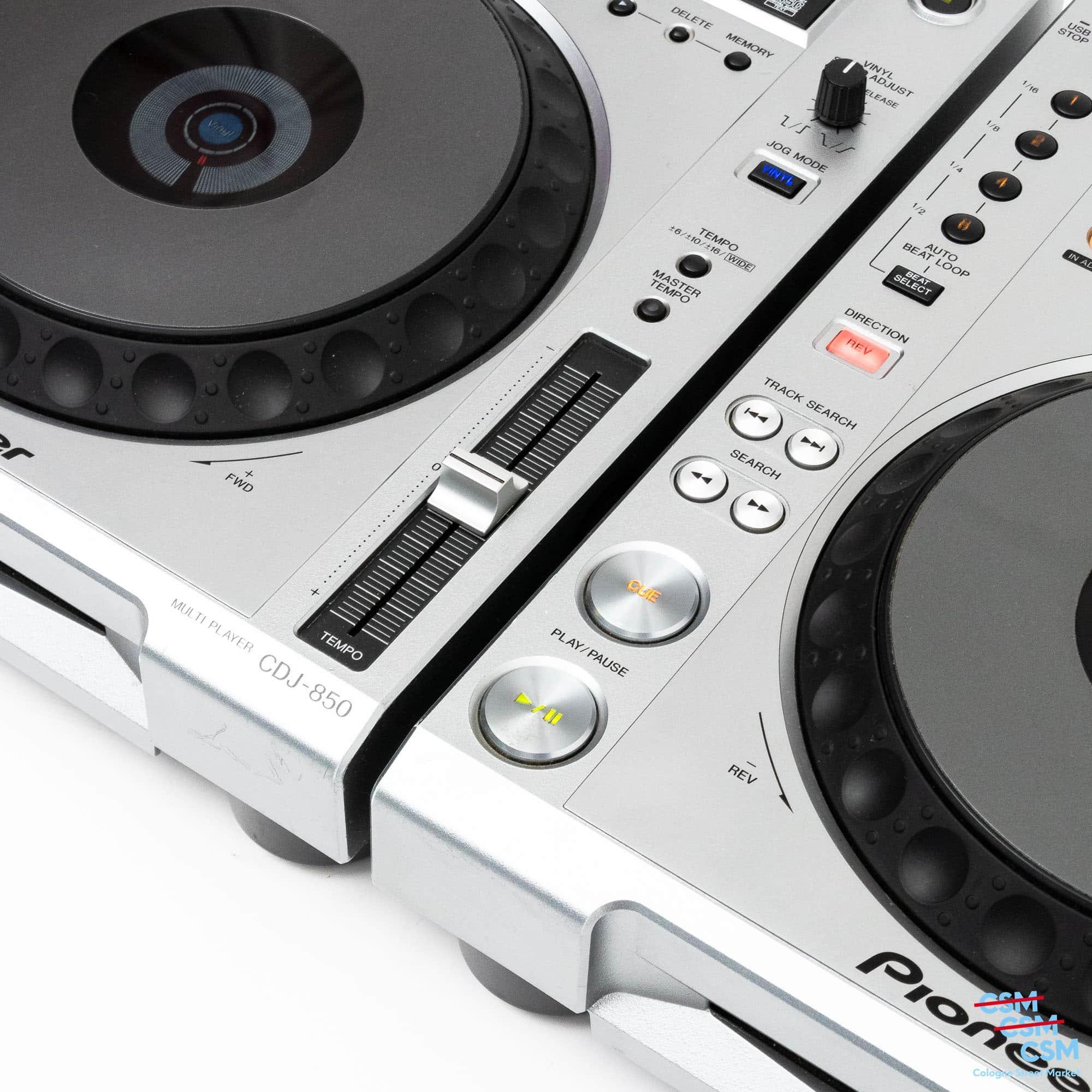 2er Paket Pioneer DJ CDJ 850 Silber gebraucht 5