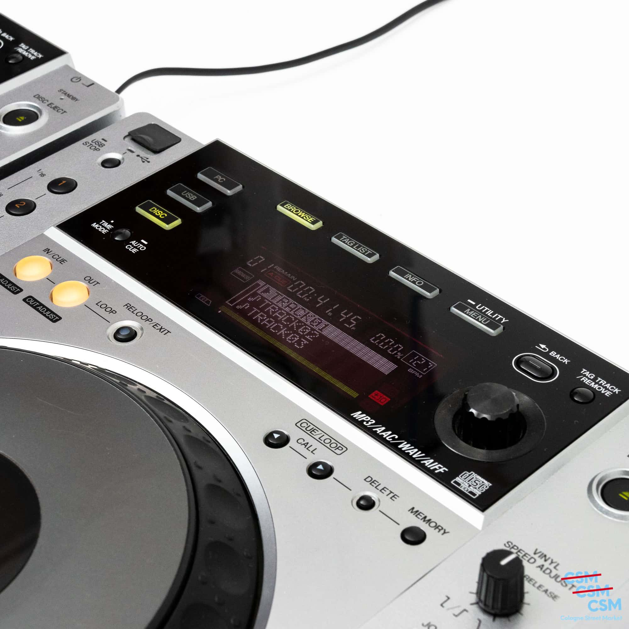 2er Paket Pioneer DJ CDJ 850 Silber gebraucht 6