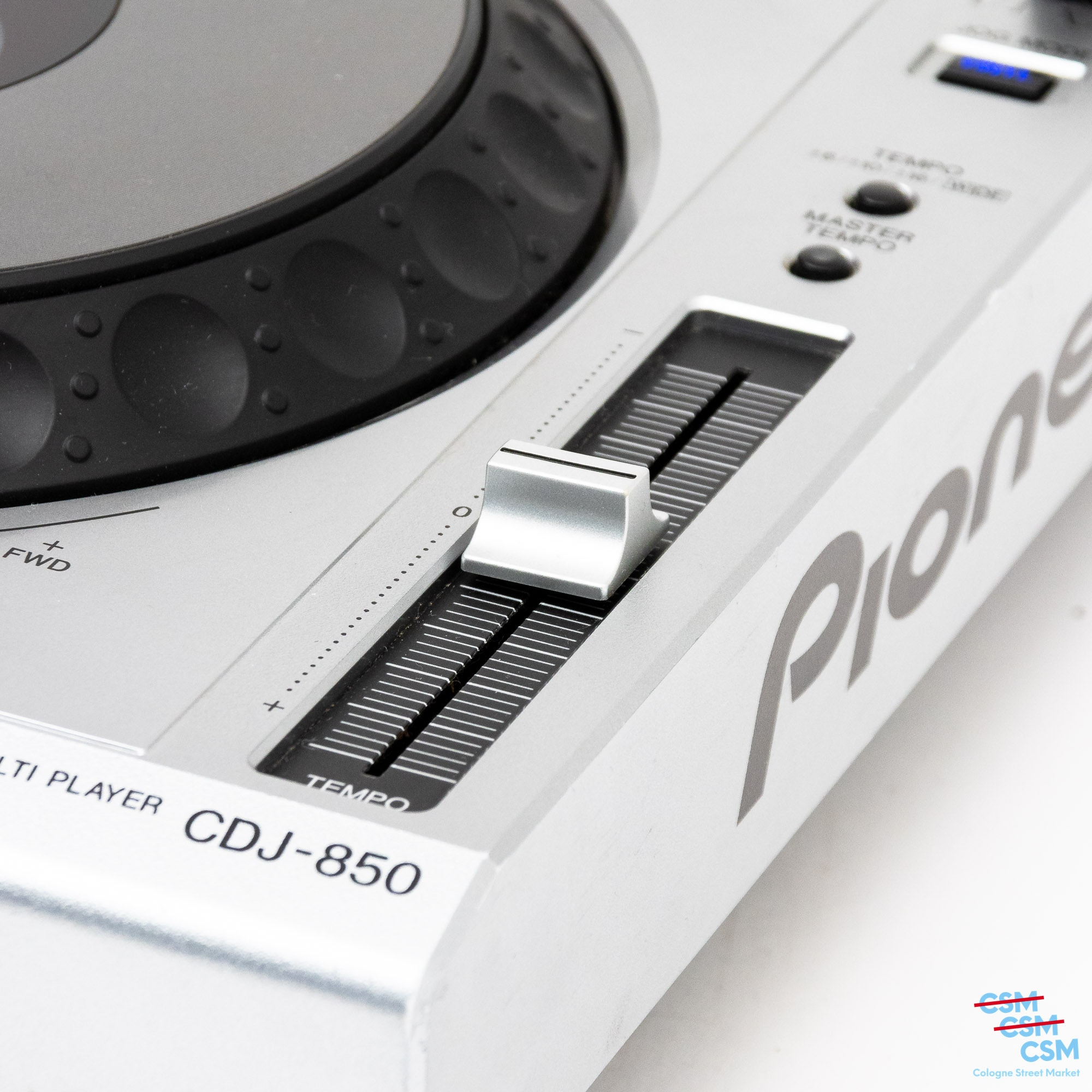 2er Paket Pioneer DJ CDJ 850 Silber gebraucht 7