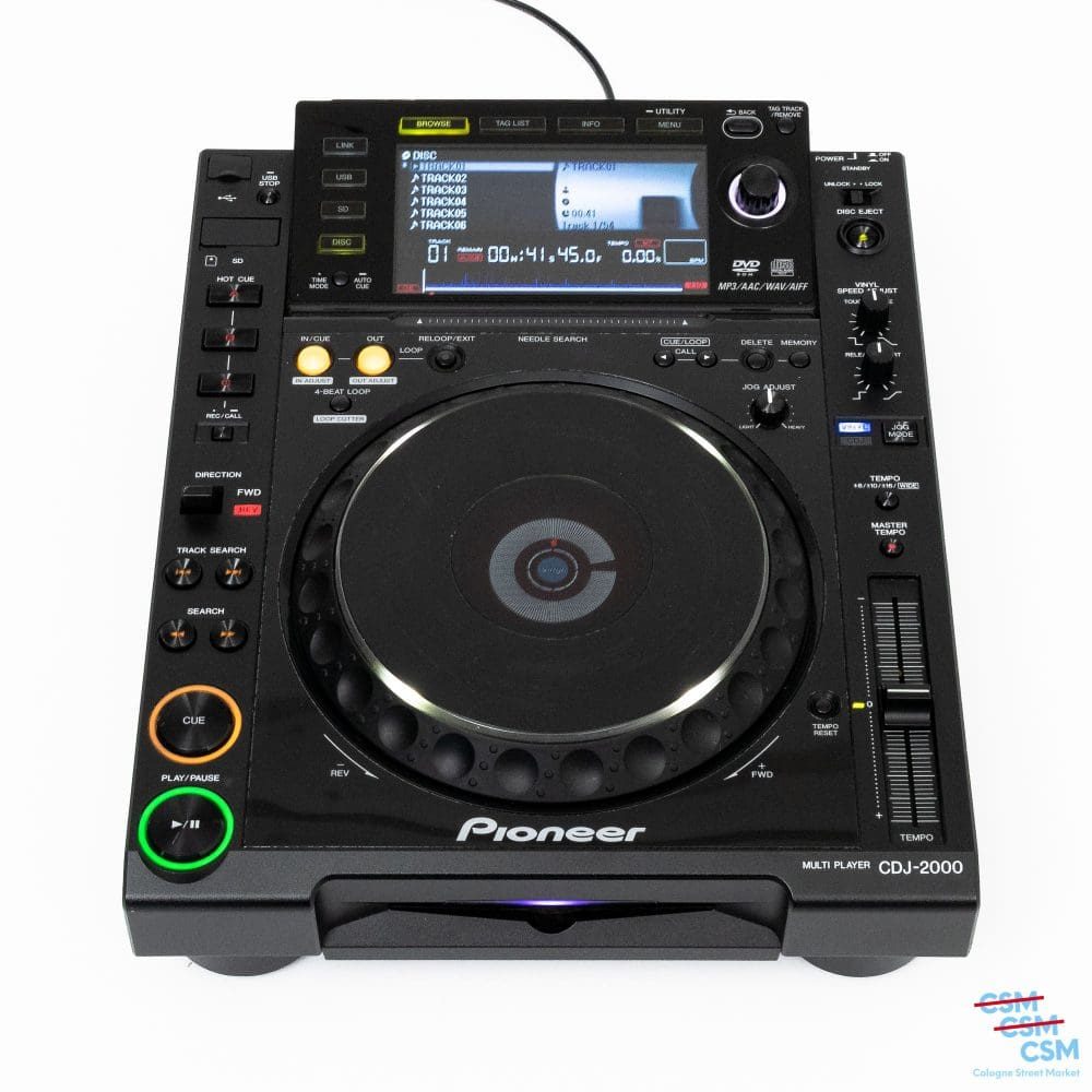 Pioneer DJ CDJ 2000 mit Kratzern gebraucht 1