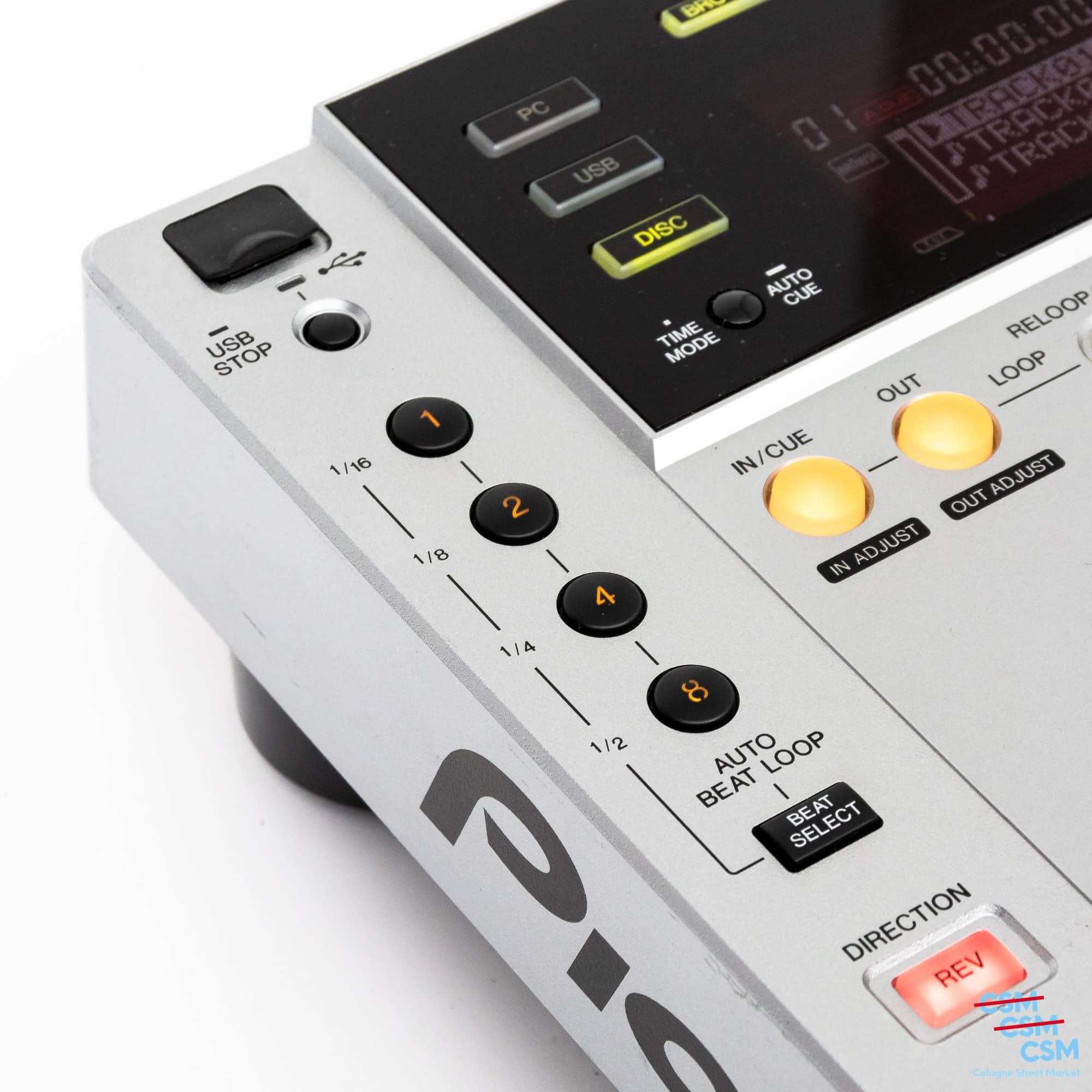 Pioneer DJ CDJ 850 Silber gebraucht 10