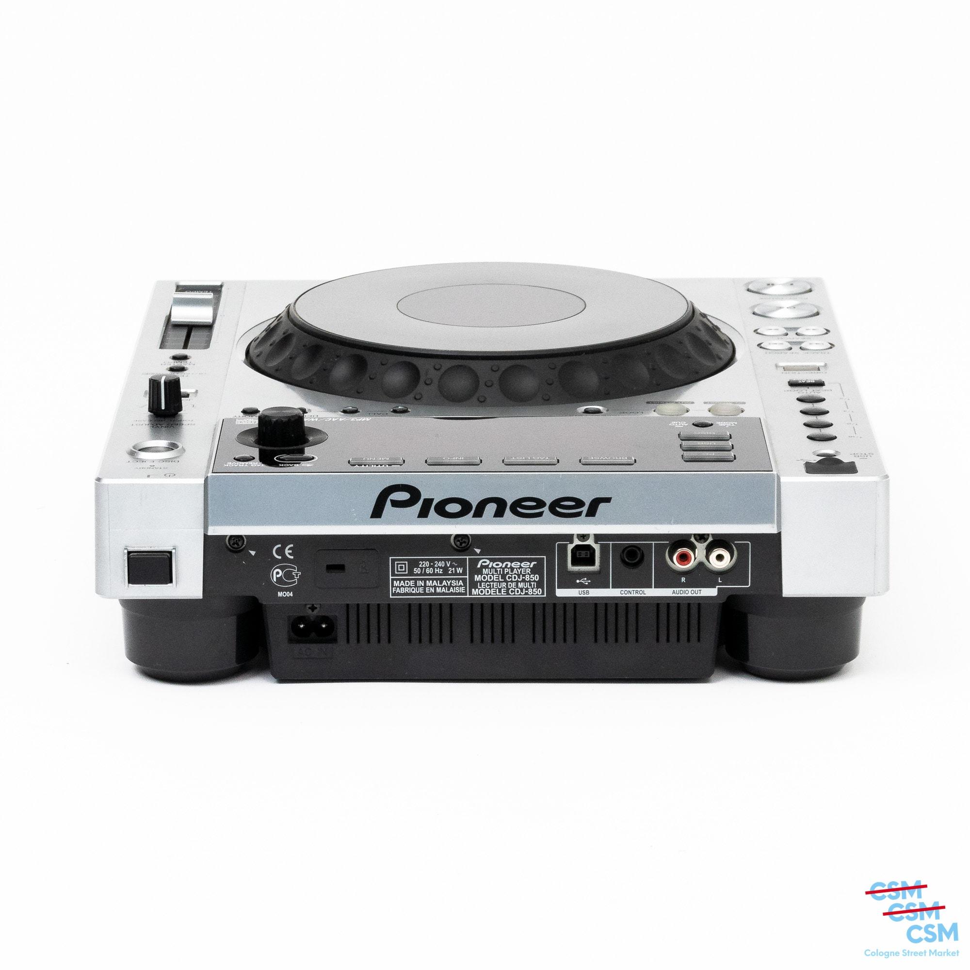 Pioneer DJ CDJ 850 Silber gebraucht 12
