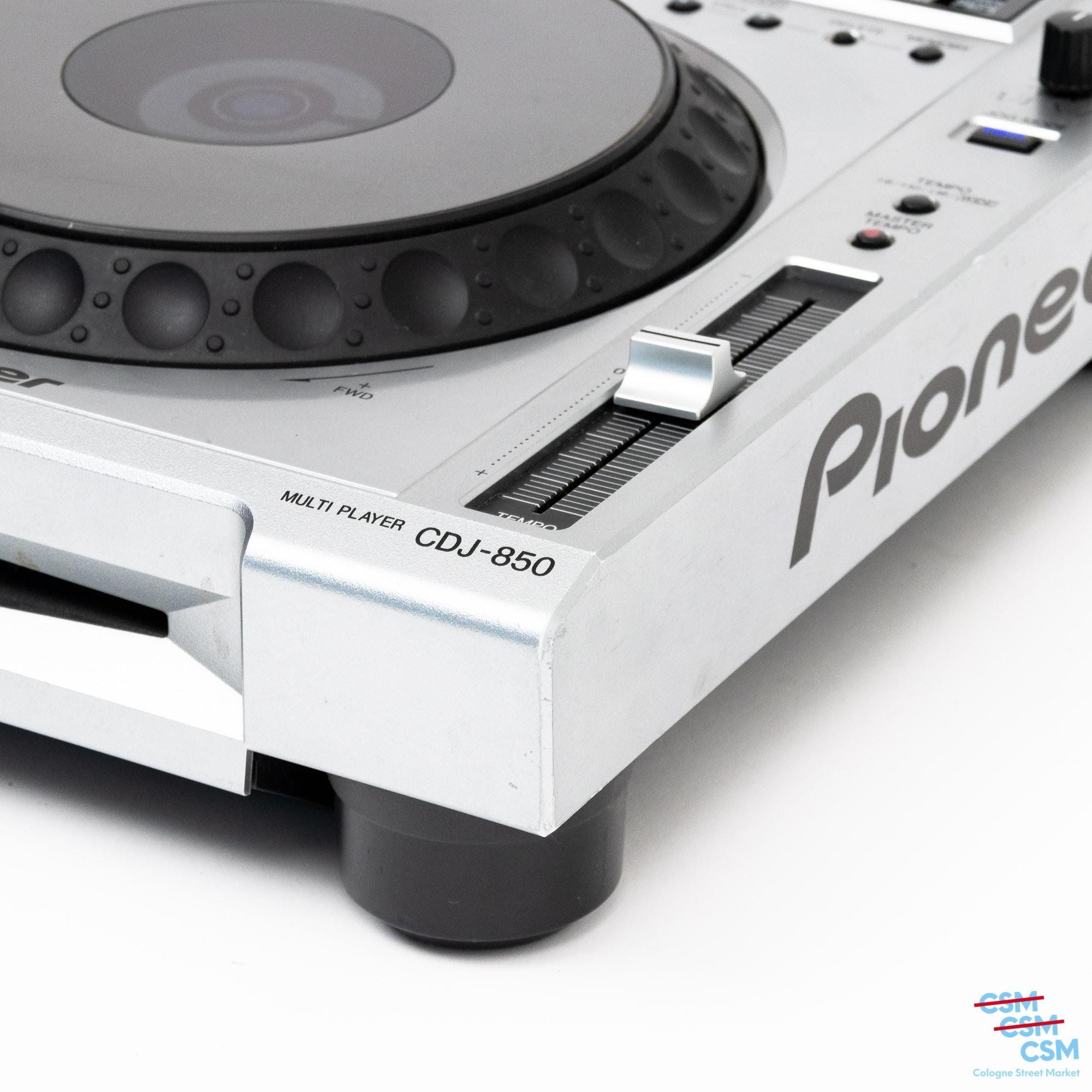 Pioneer DJ CDJ 850 Silber gebraucht 4