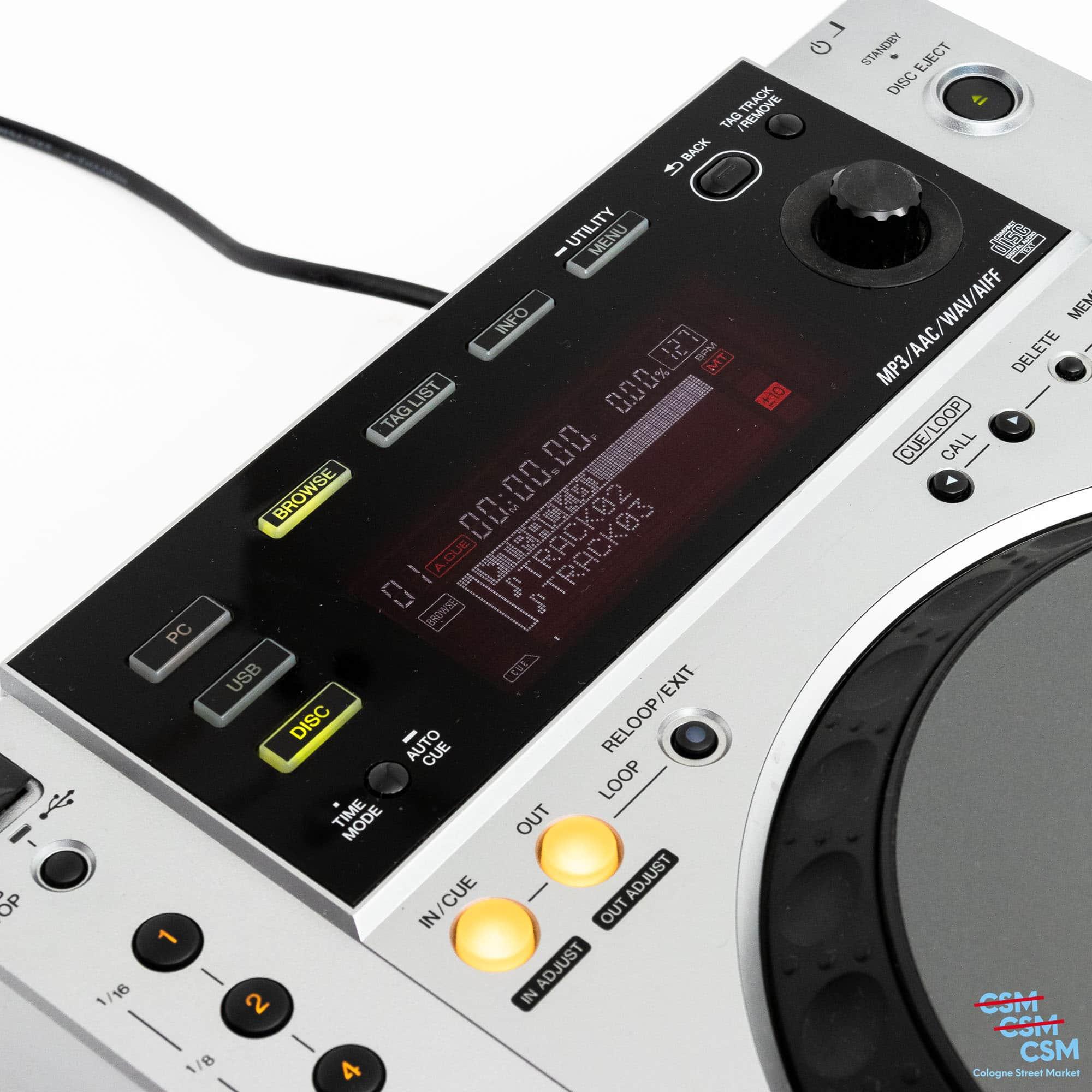 Pioneer DJ CDJ 850 Silber gebraucht 6