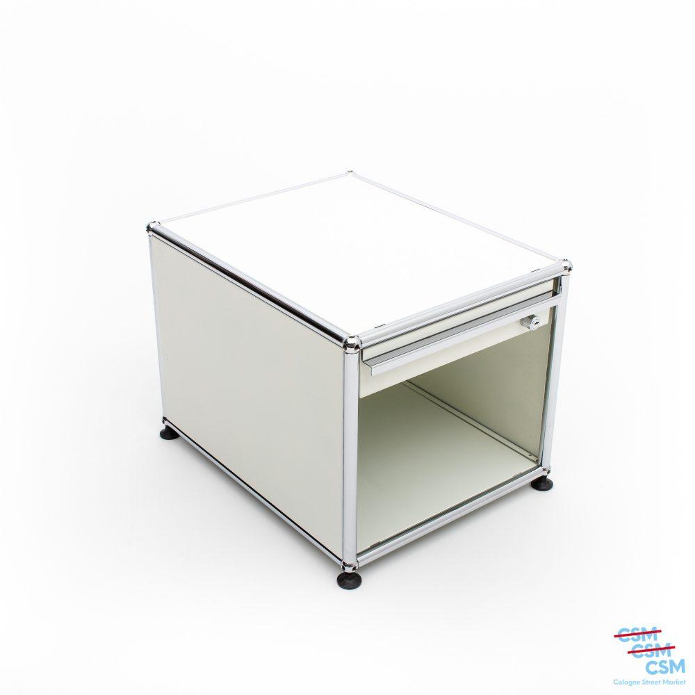 USM-Haller-Nachttisch-Reinweiß-gebraucht-kaufen