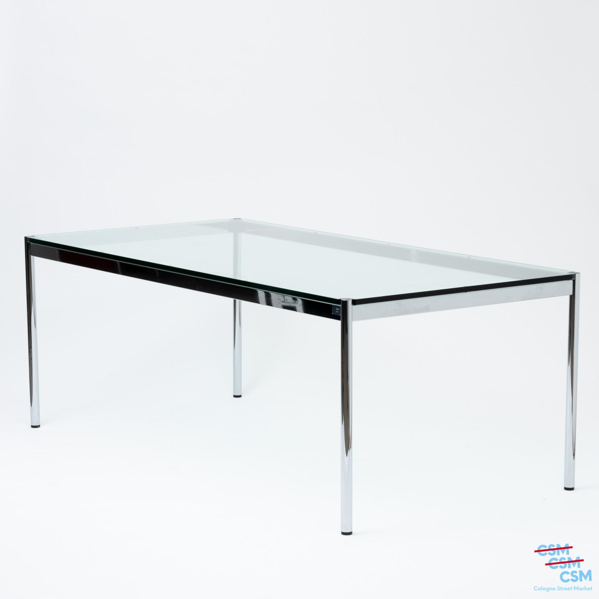 USM Haller Tisch Glas gebraucht 1
