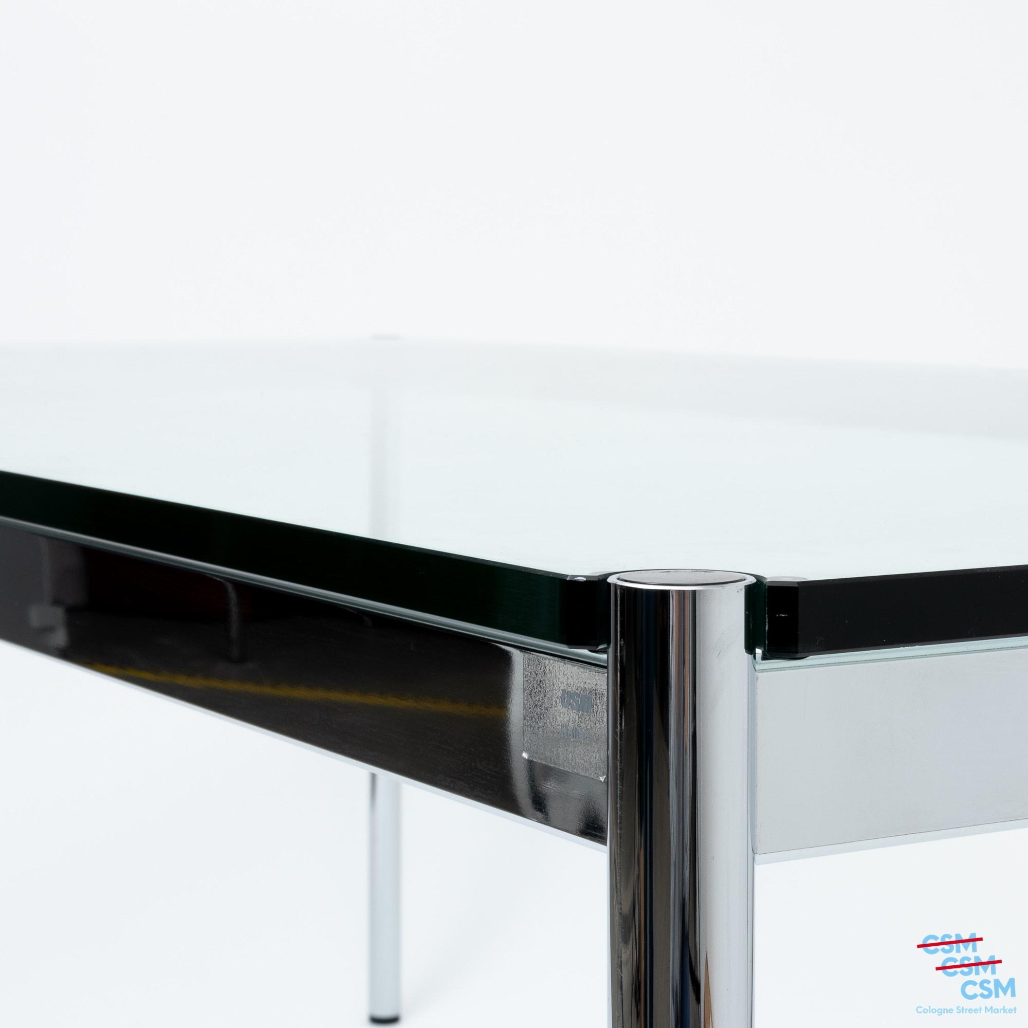 USM Haller Tisch Glas gebraucht 3
