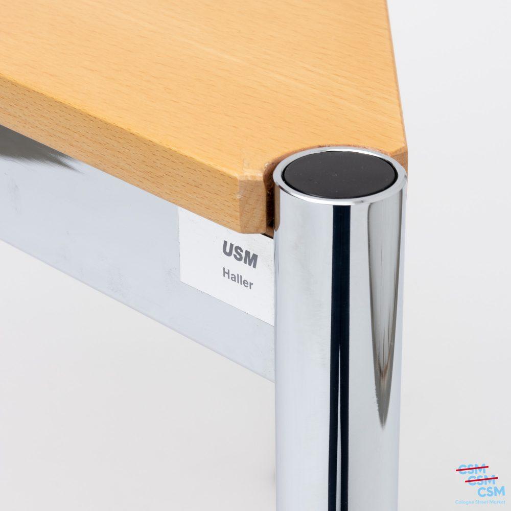 USM-Haller-Tisch-dreieckig-mit-Loch-Buche-gebraucht-2