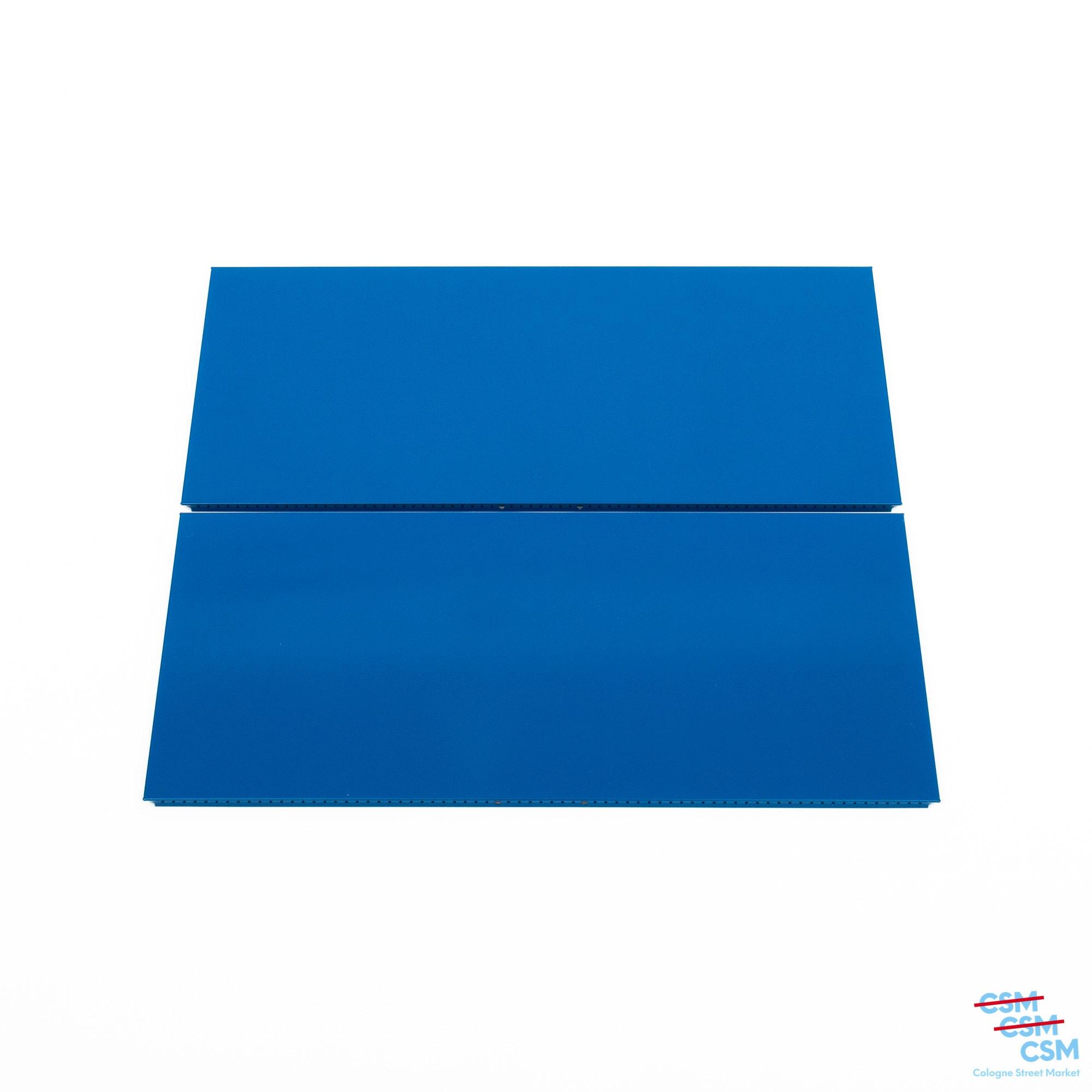 2er Paket USM Haller Tablar 75x35 Enzianblau gebraucht 1