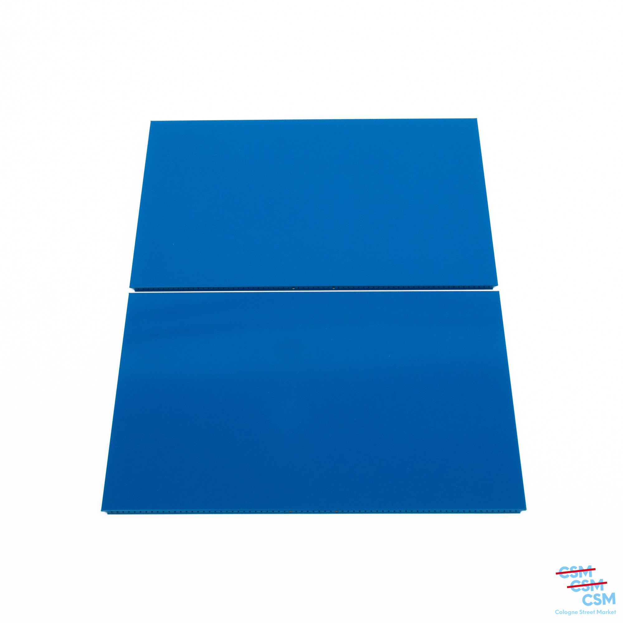 2er Paket USM Haller Tablar 75x50 Enzianblau gebraucht 1