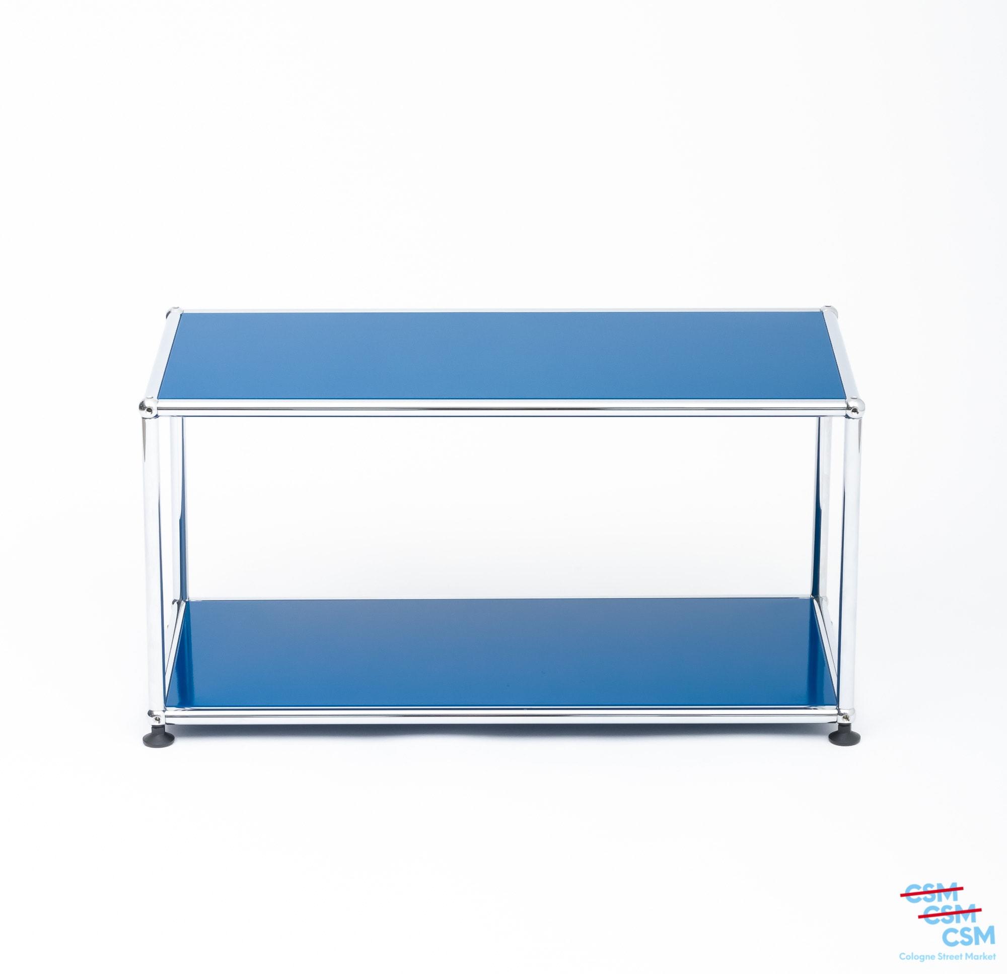 USM Haller Beistelltisch Enzianblau gebraucht 1