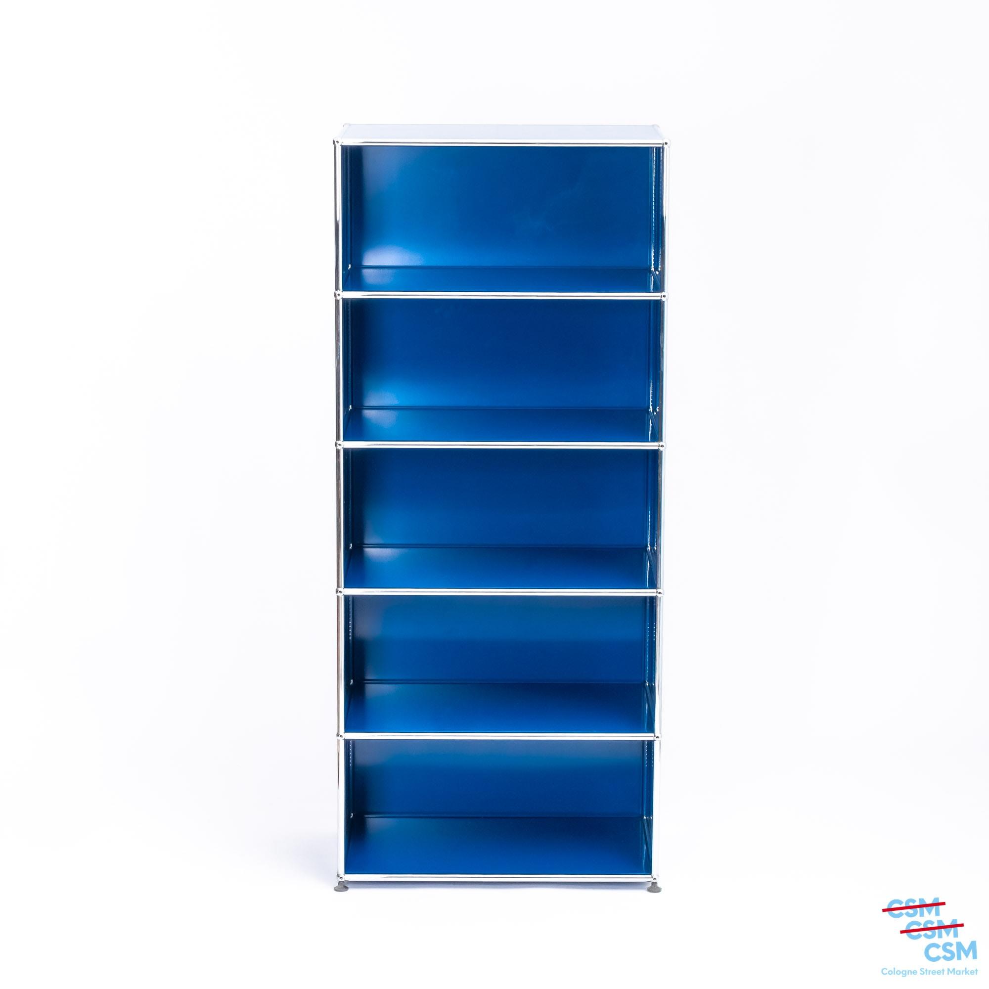 USM Haller Regal Enzianblau gebraucht 1 1