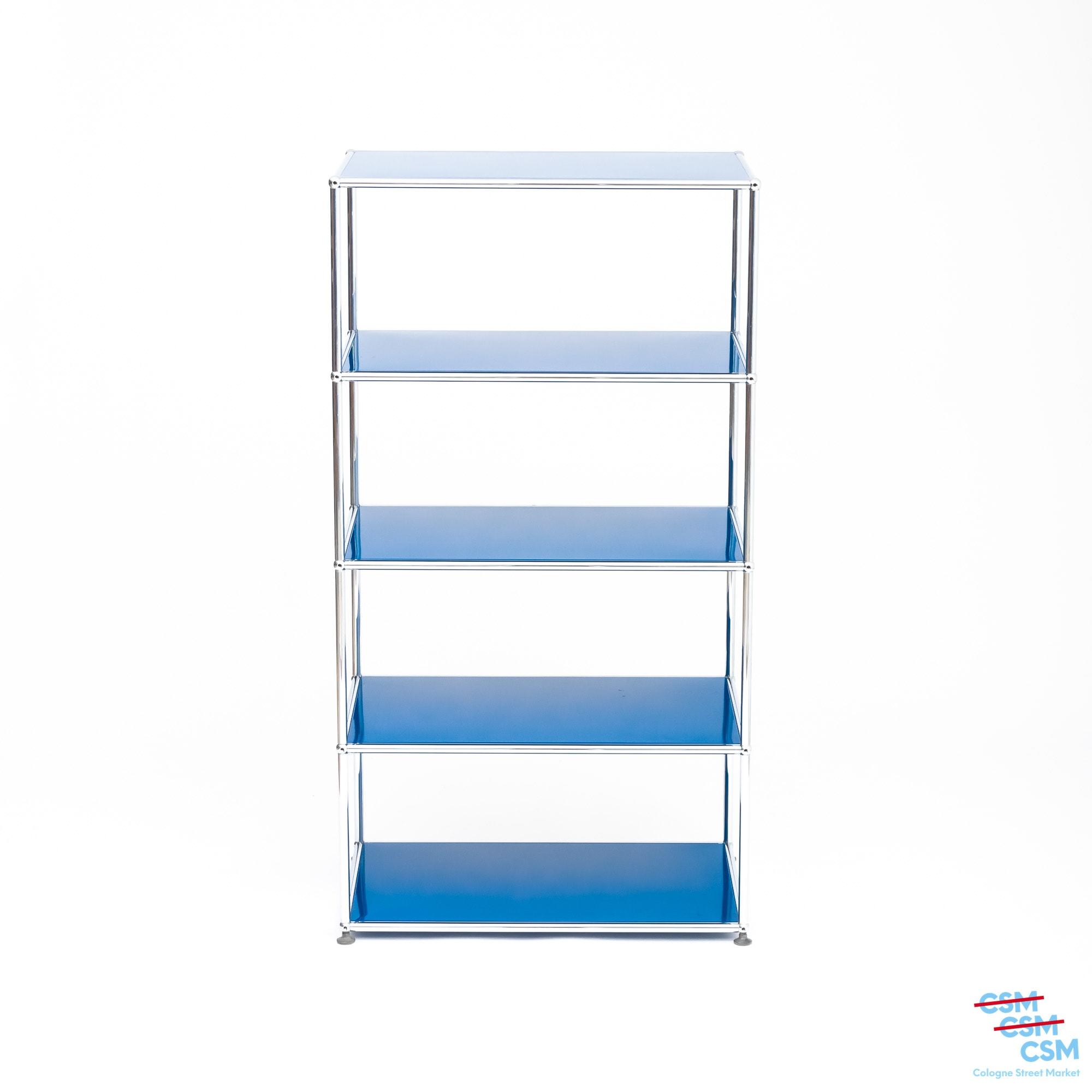 USM Haller Regal Enzianblau gebraucht 2 1