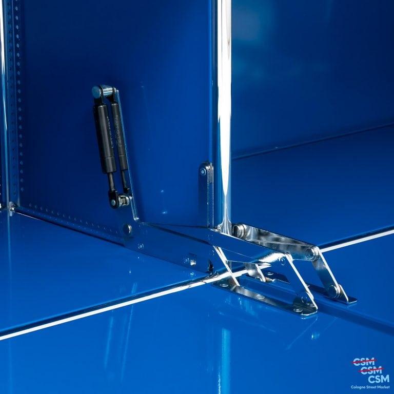 USM-Haller-Sidebard-mit-Klappen-Enzianblau-gebraucht-10