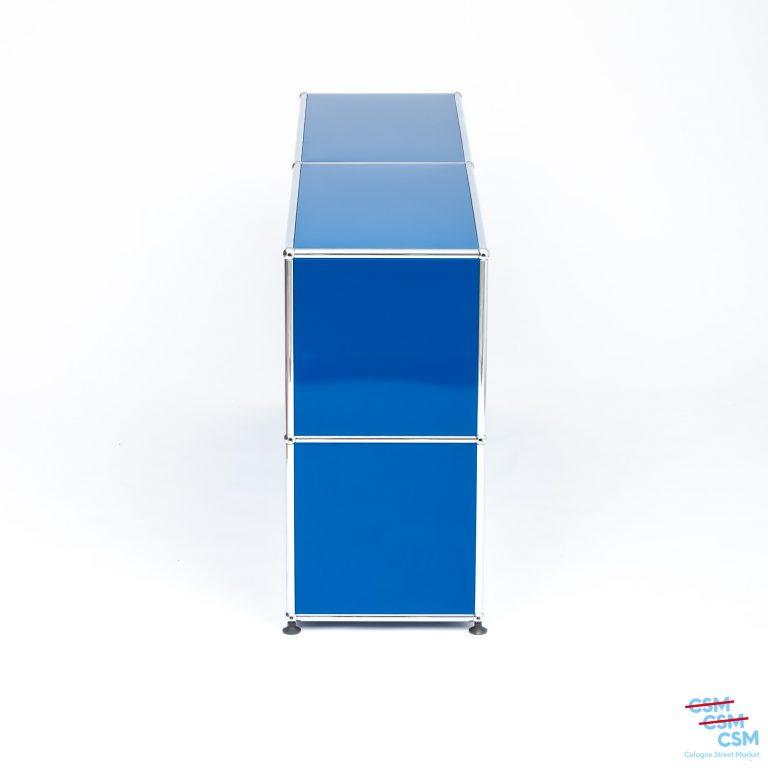 USM-Haller-Sidebard-mit-Klappen-Enzianblau-gebraucht-12