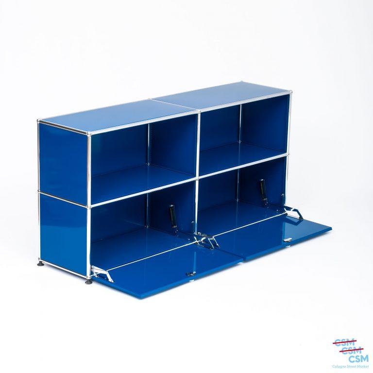USM-Haller-Sidebard-mit-Klappen-Enzianblau-gebraucht-7