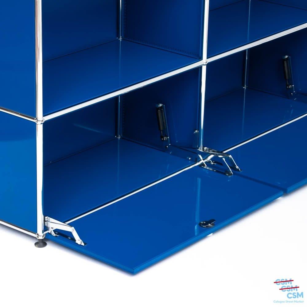 USM-Haller-Sidebard-mit-Klappen-Enzianblau-gebraucht-8