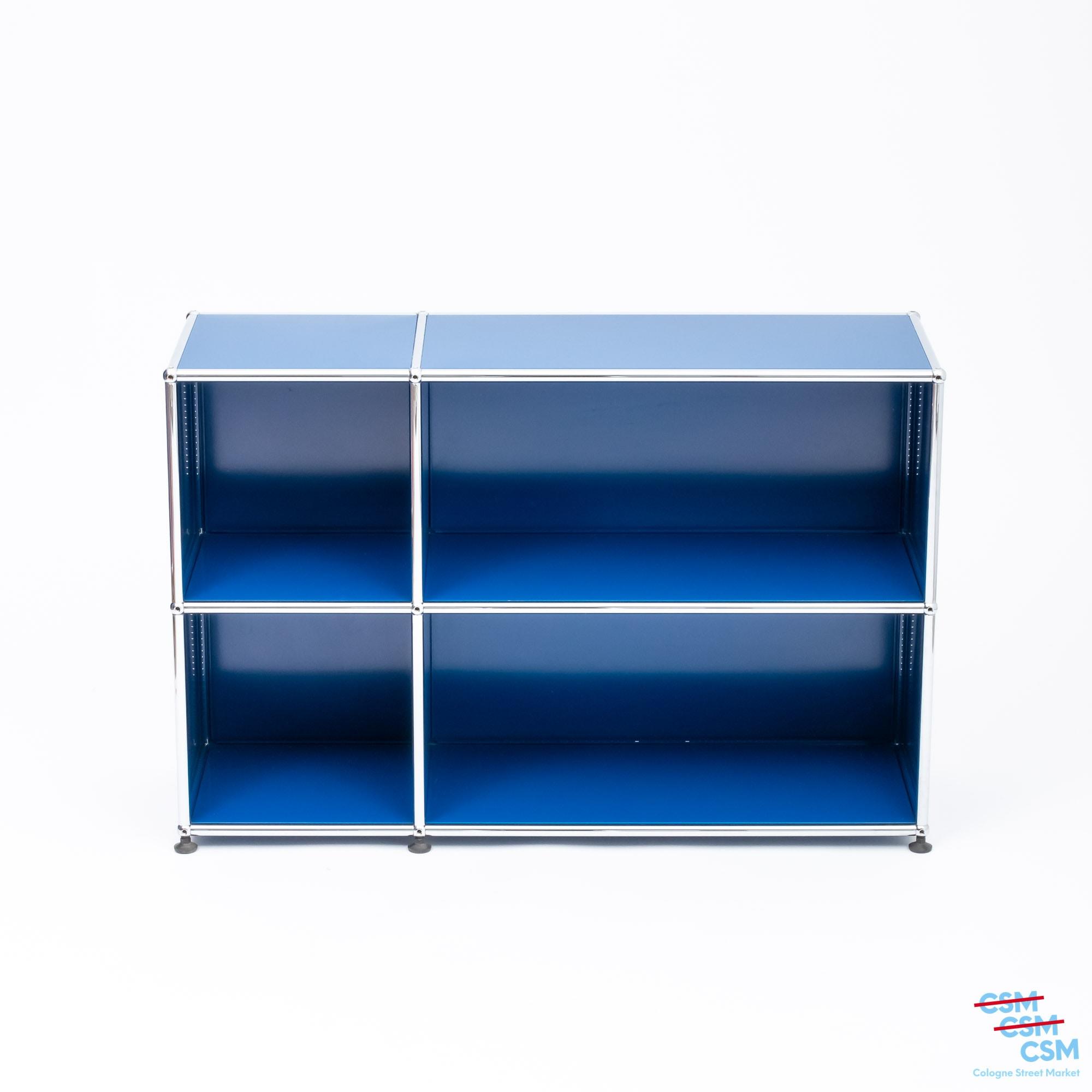 USM Haller Sideboard Enzianblau gebraucht 2 1