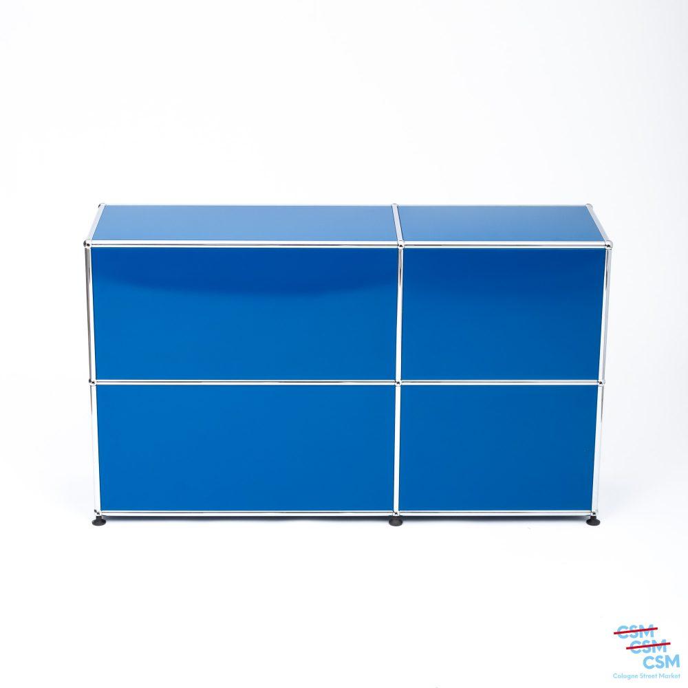 USM-Haller-Sideboard-Enzianblau-gebraucht-3-4