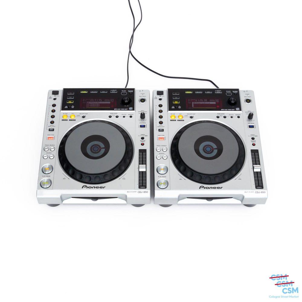 2er Paket Pioneer DJ CDJ 850 S gebraucht outlet 1