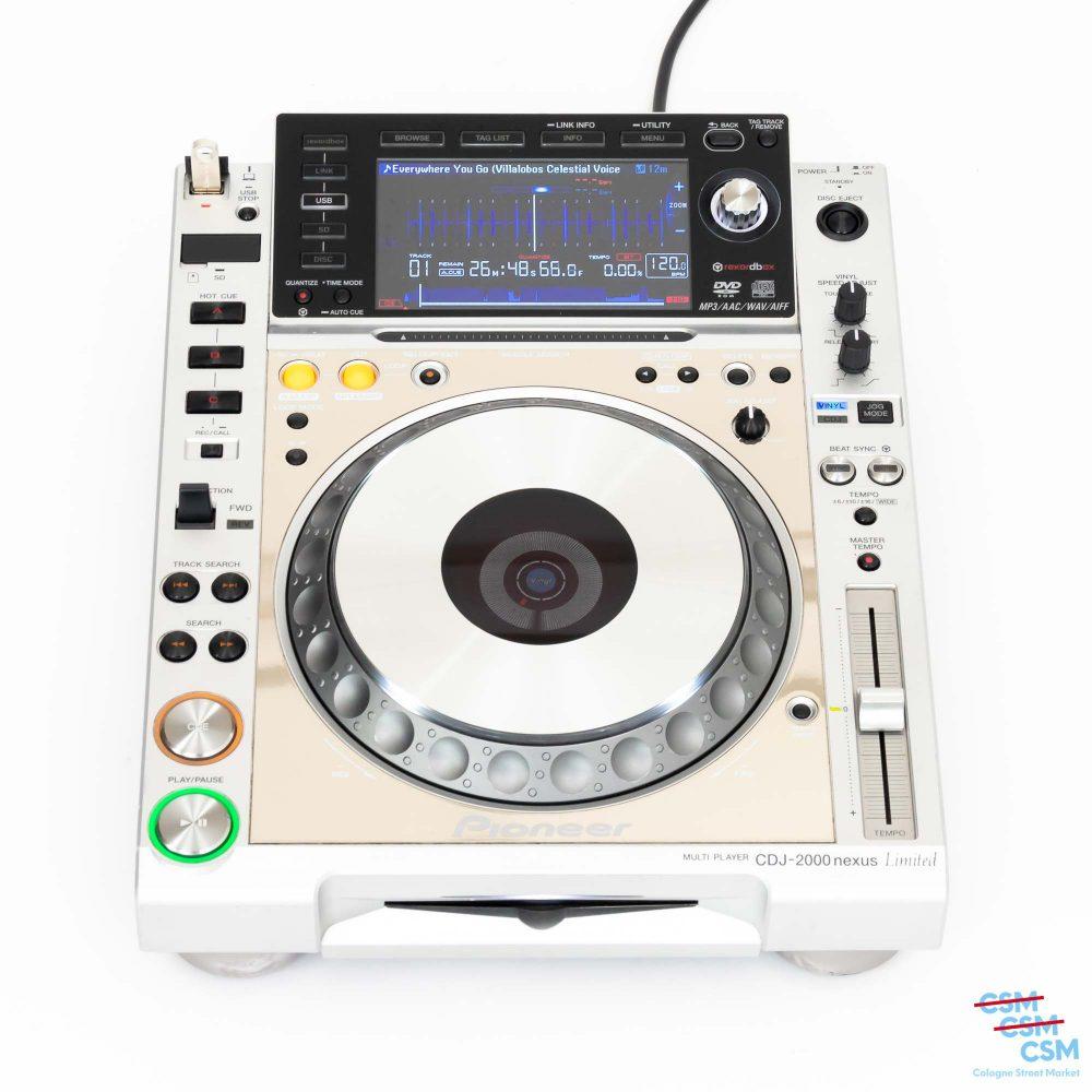 Pioneer DJ CDJ 2000 Nexus Limited Platinum gebraucht outlet 1
