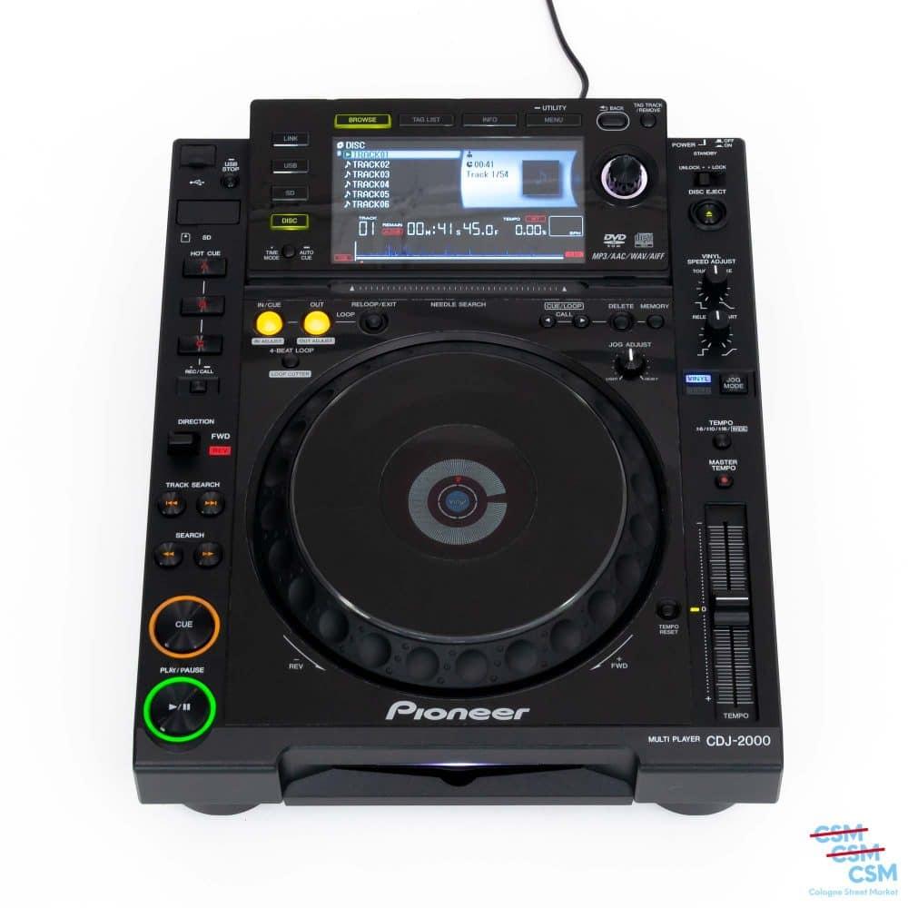 Pioneer DJ CDJ 2000 gebraucht outlet 1