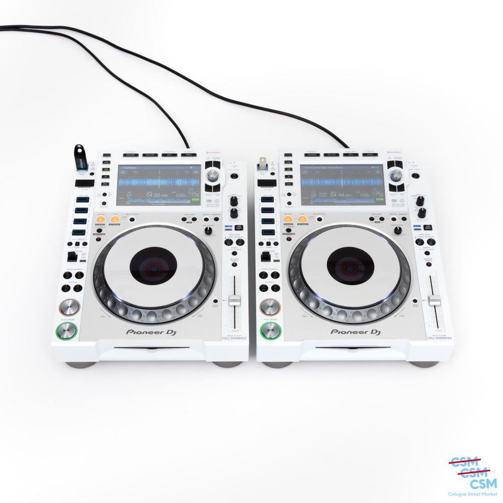 2er Paket Pioneer DJ CDJ 2000 NXS Limited White gebraucht 1